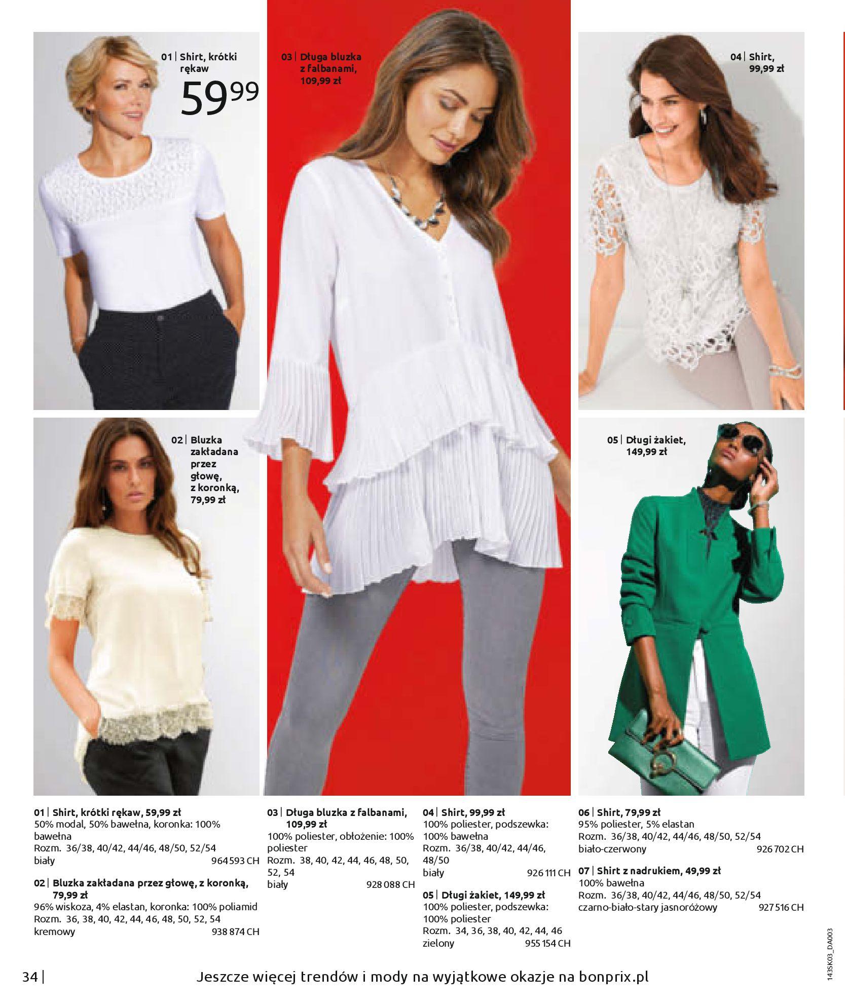 Gazetka Bonprix: Wiosenna moda 2021-03-05 page-36