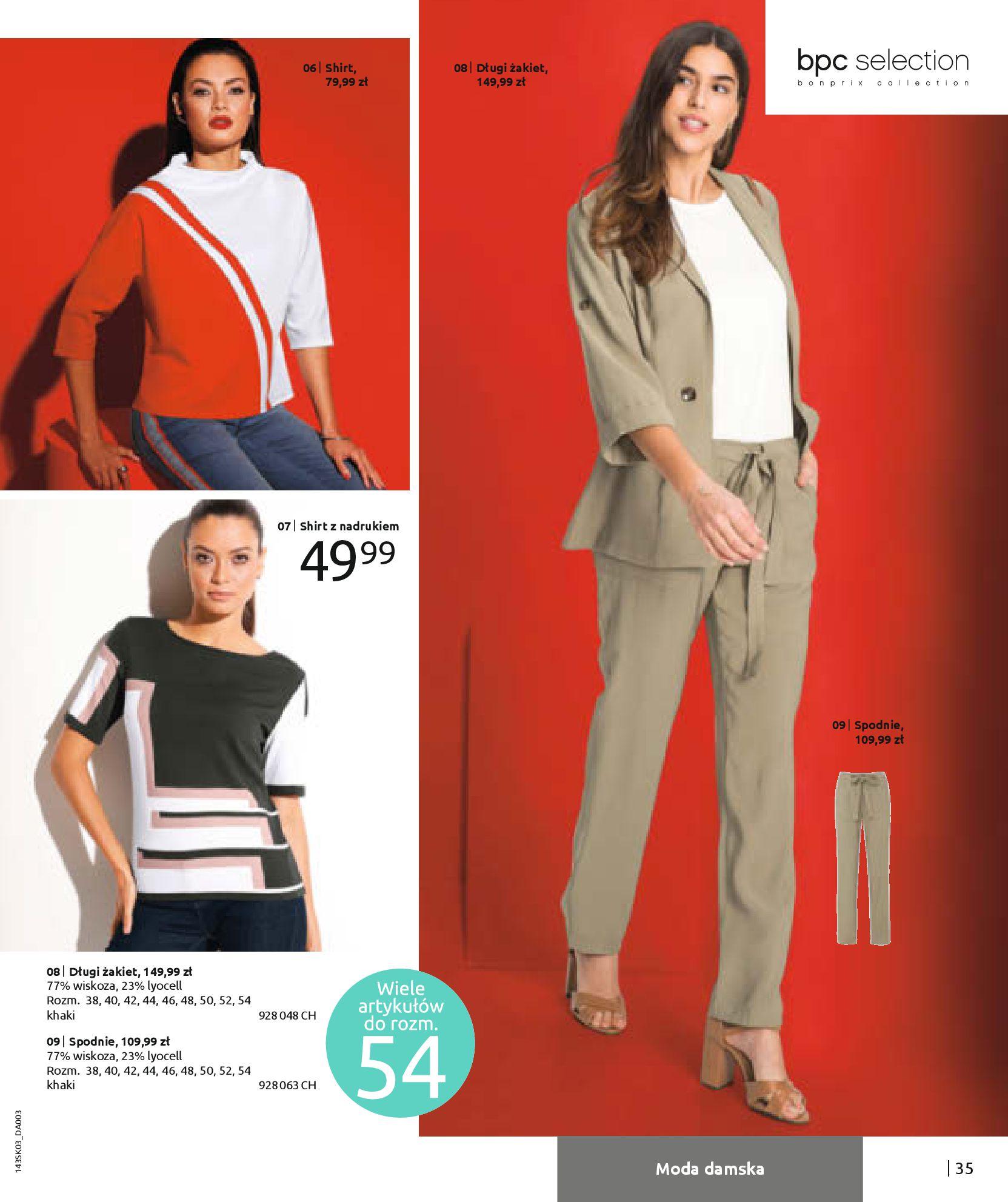Gazetka Bonprix: Wiosenna moda 2021-03-05 page-37