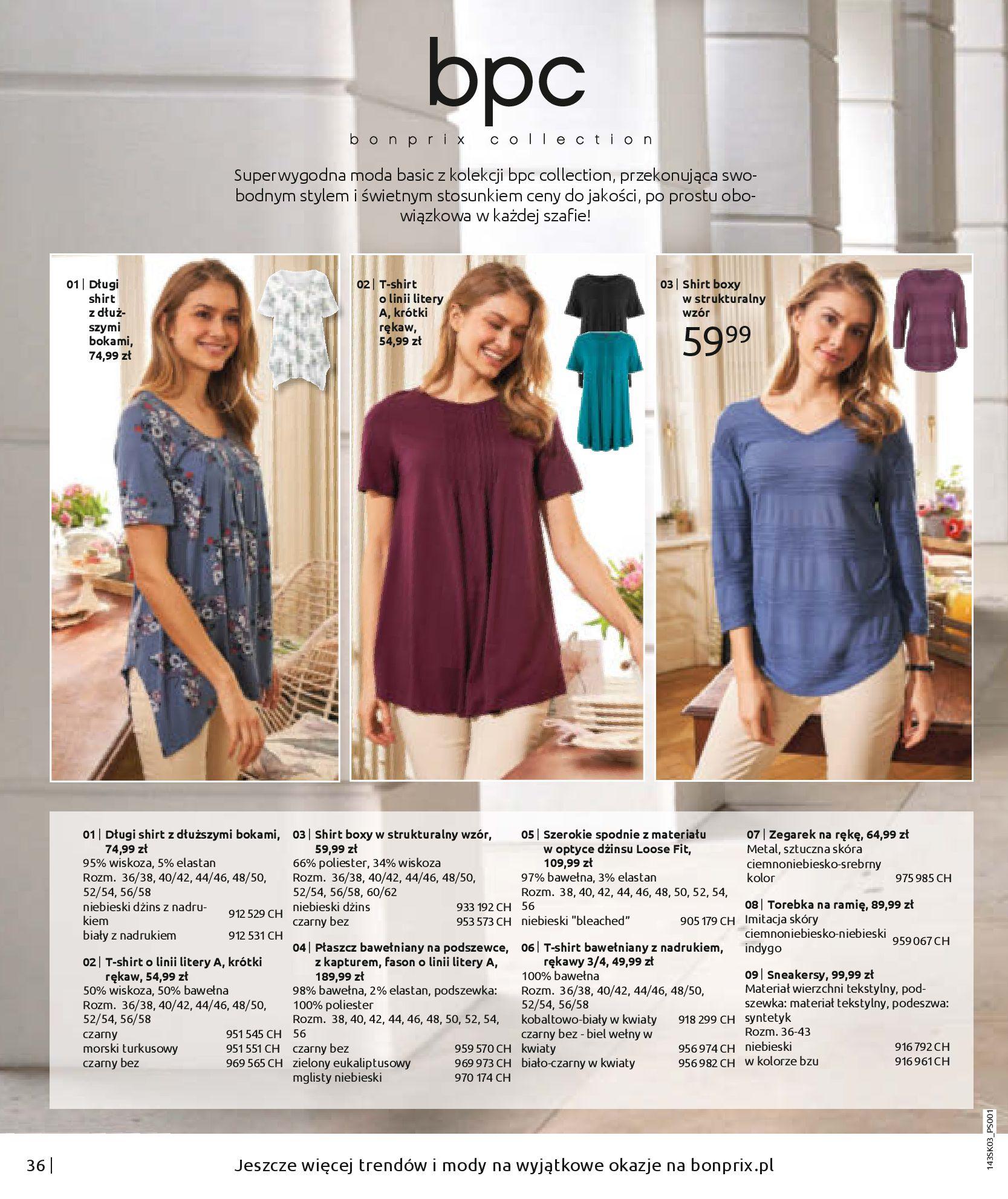 Gazetka Bonprix: Wiosenna moda 2021-03-05 page-38