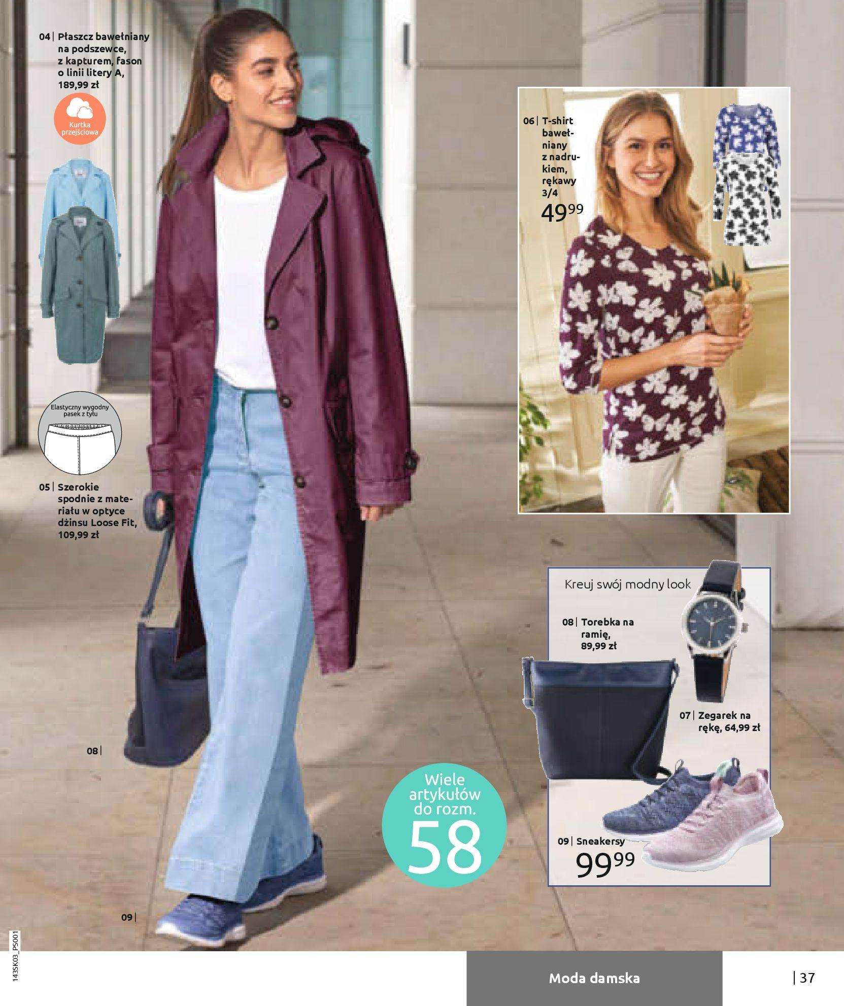 Gazetka Bonprix: Wiosenna moda 2021-03-05 page-39