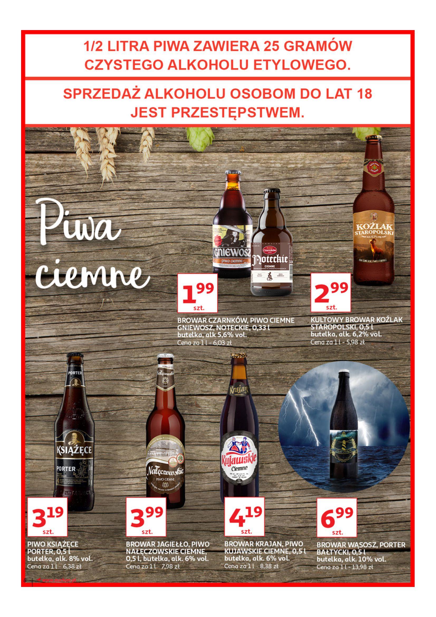Gazetka Auchan - Poznaj naszą ofertę piw Hipermarkety-12.06.2019-23.06.2019-page-8
