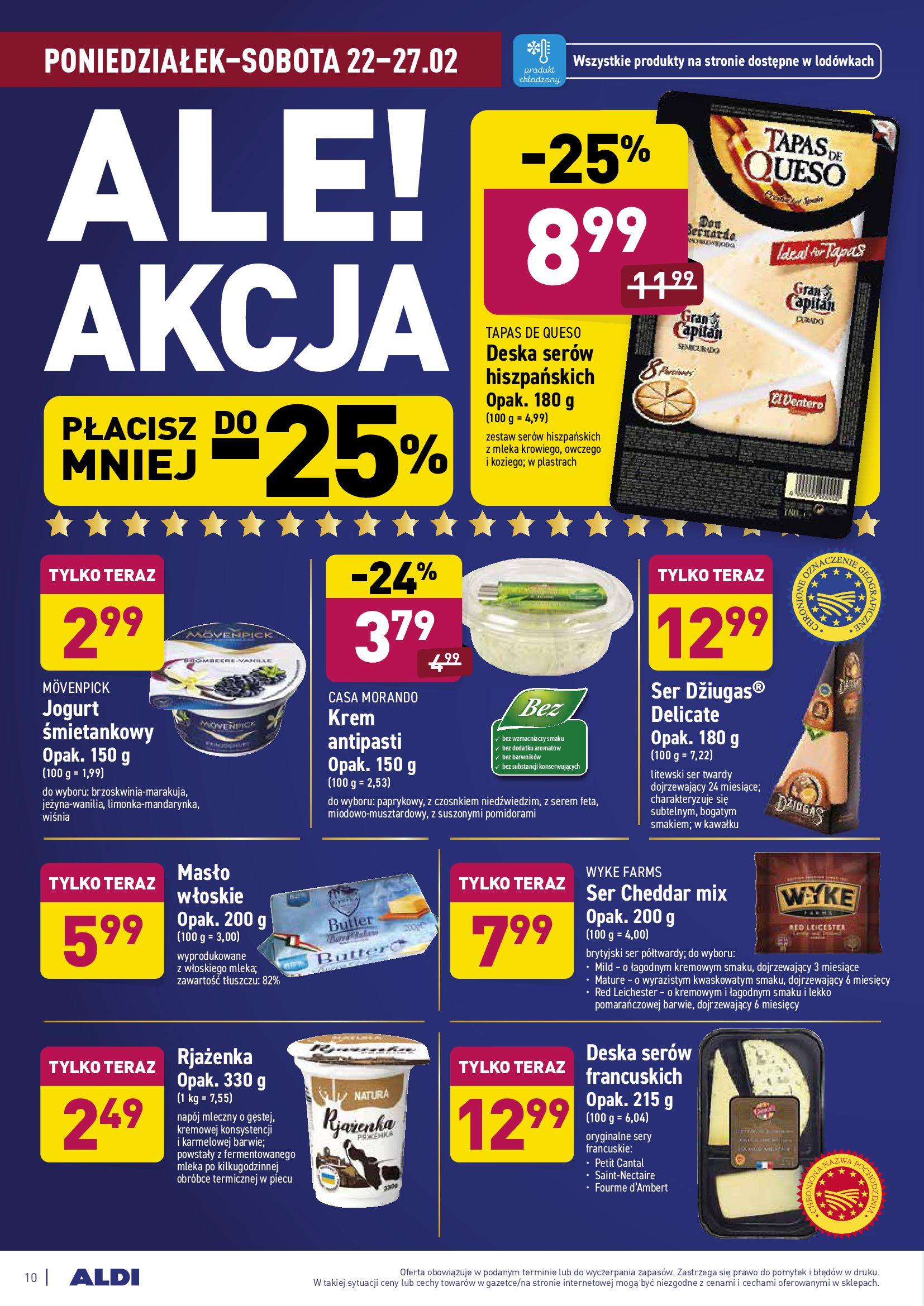 Gazetka Aldi: Gazetka promocyjna od 22.02 2021-02-22 page-10