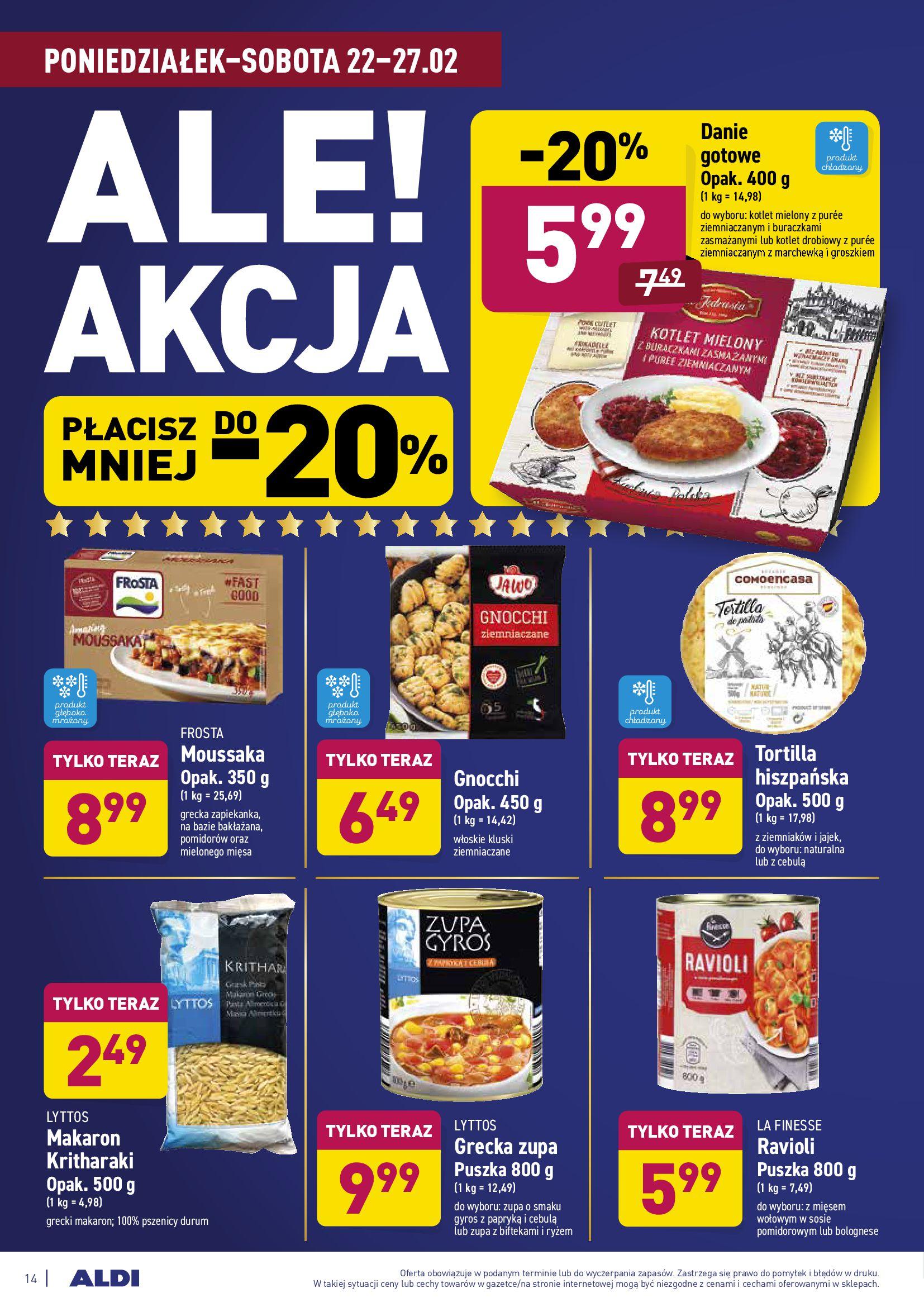 Gazetka Aldi: Gazetka promocyjna od 22.02 2021-02-22 page-14