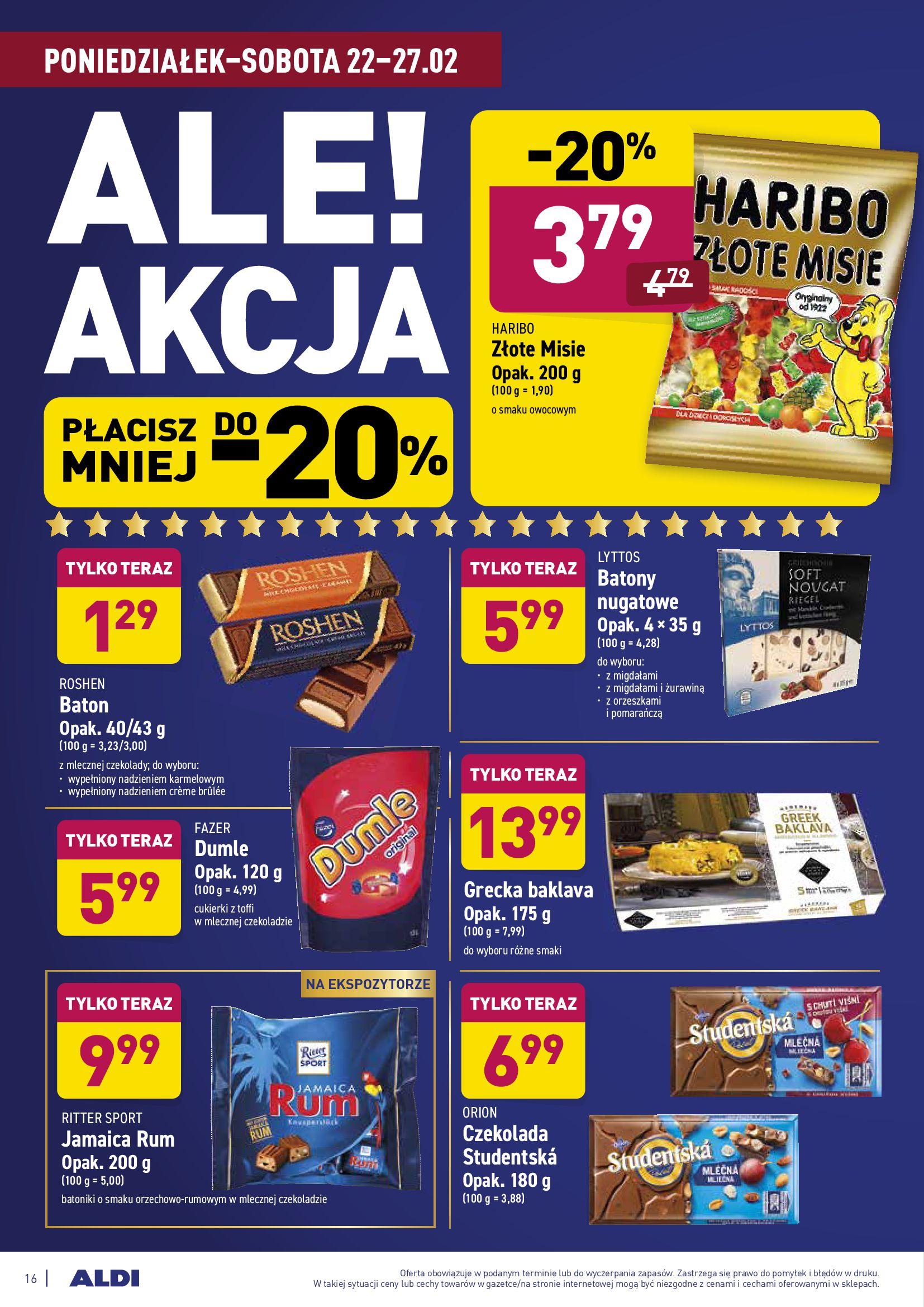 Gazetka Aldi: Gazetka promocyjna od 22.02 2021-02-22 page-16