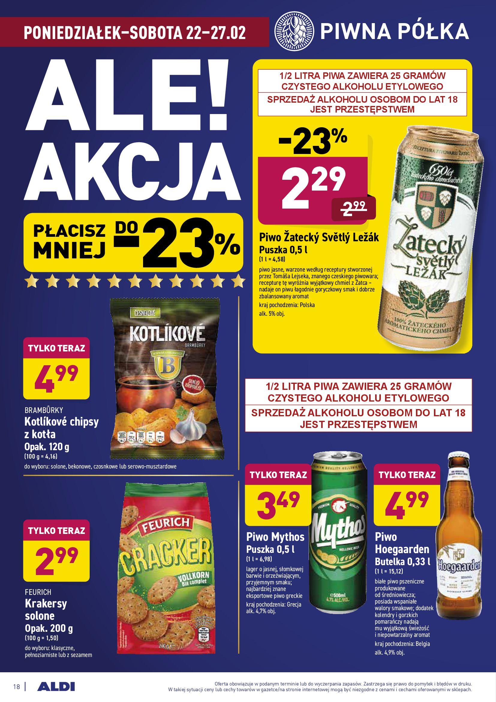 Gazetka Aldi: Gazetka promocyjna od 22.02 2021-02-22 page-18