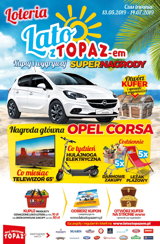 Gazetka TOPAZ - Oferta na art. spożywcze-12.06.2019-26.06.2019-page-