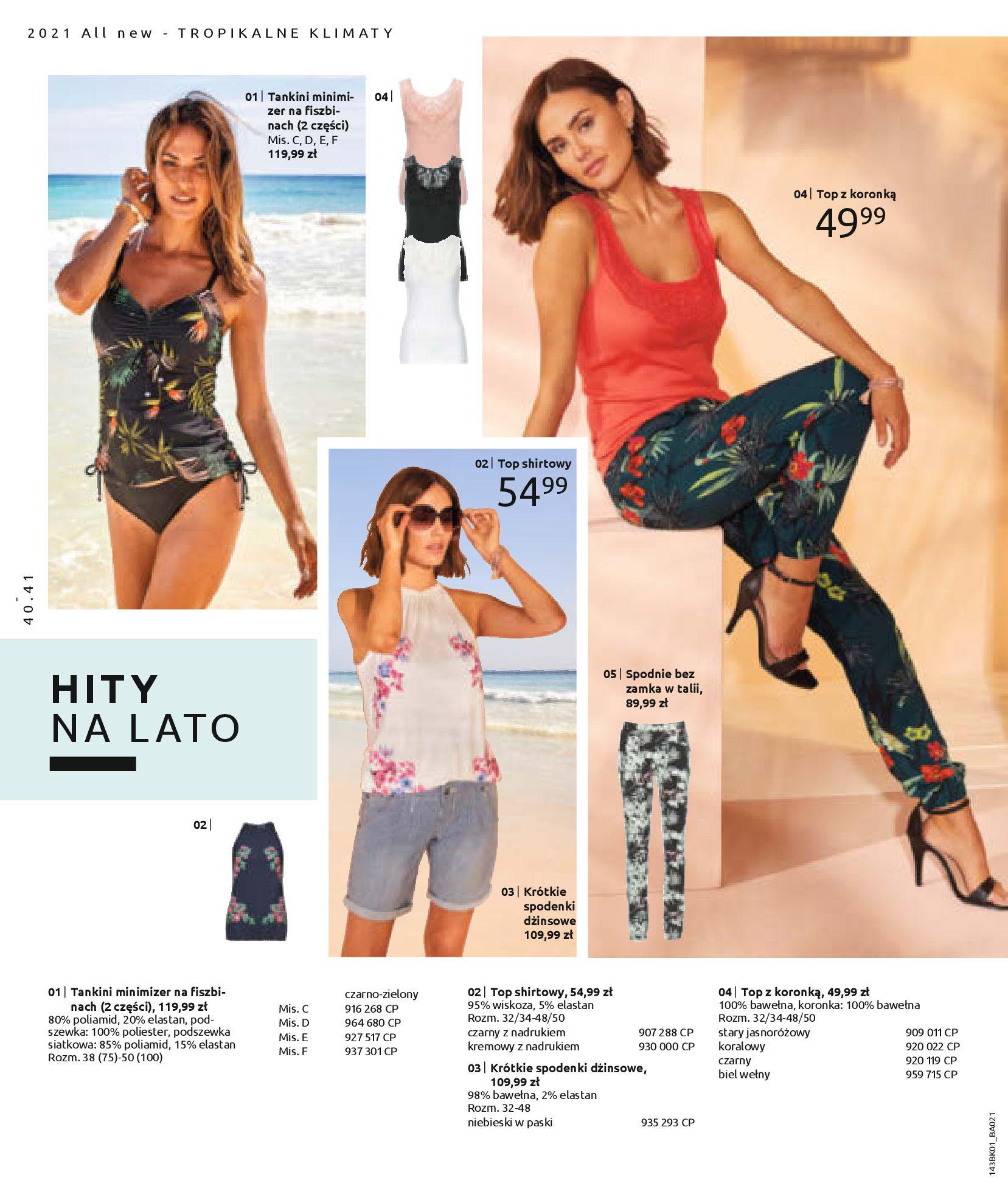 Gazetka Bonprix: Katalog Bonprix Nareszcie! Nadchodzi lato! 2021-06-09 page-42