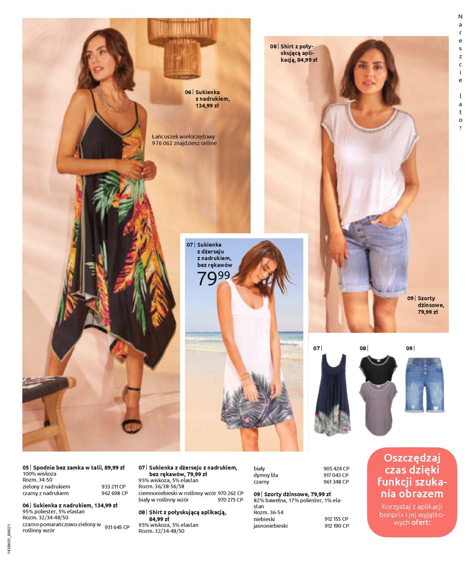 Gazetka Bonprix: Katalog Bonprix Nareszcie! Nadchodzi lato! 2021-06-09 page-43