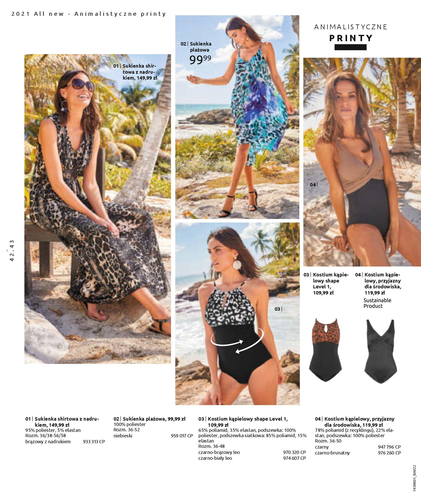 Gazetka Bonprix: Katalog Bonprix Nareszcie! Nadchodzi lato! 2021-06-09 page-44