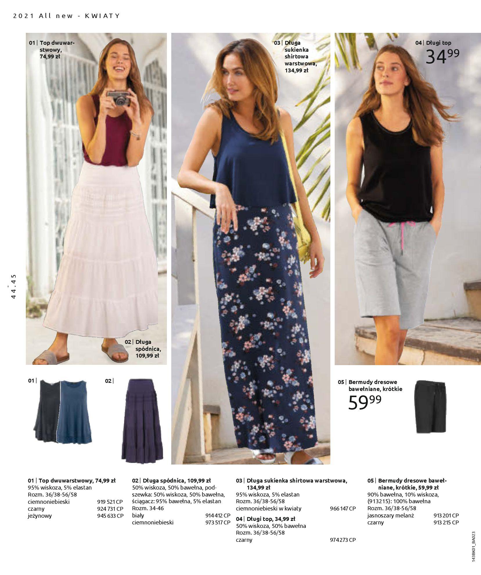 Gazetka Bonprix: Katalog Bonprix Nareszcie! Nadchodzi lato! 2021-06-09 page-46
