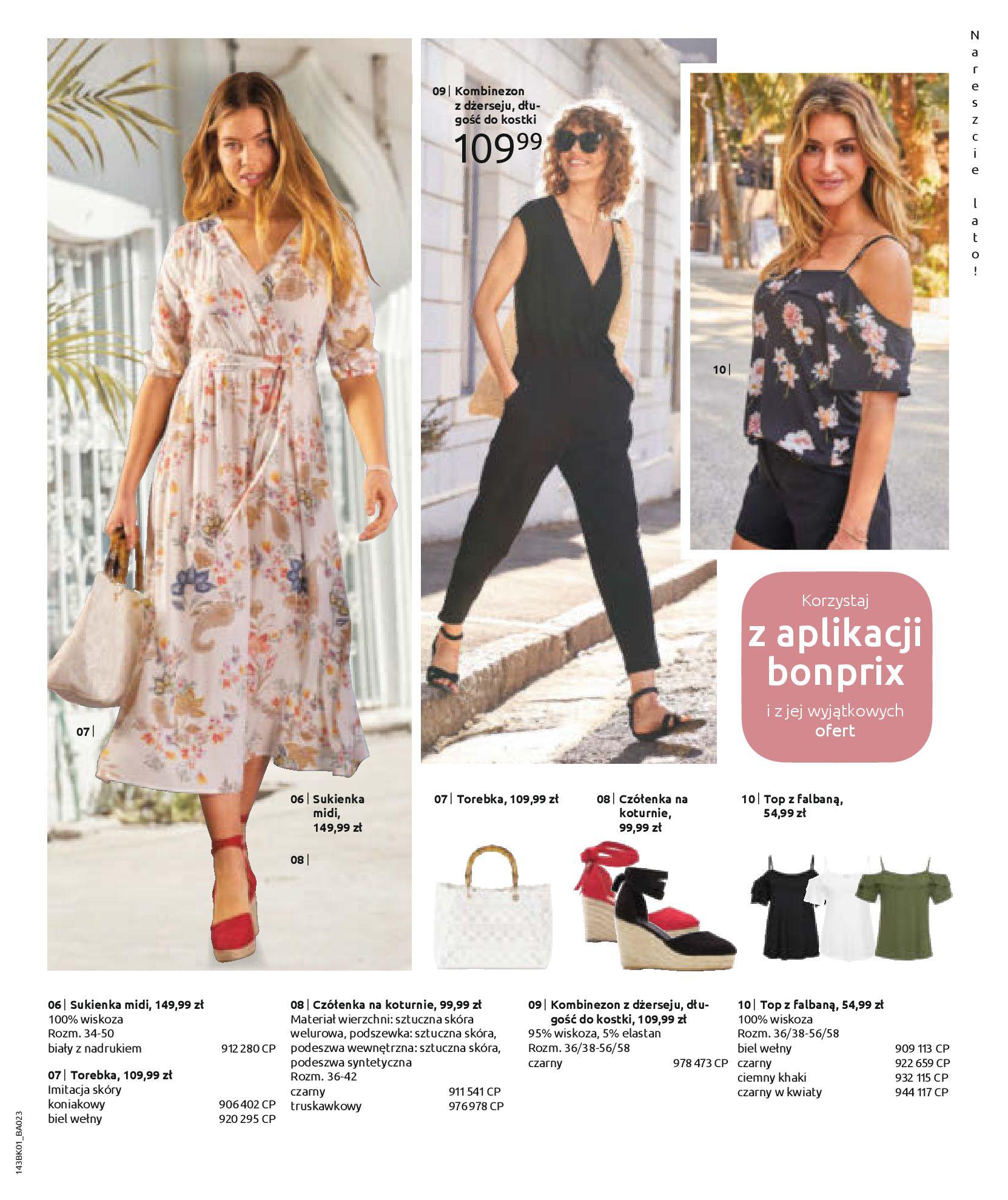 Gazetka Bonprix: Katalog Bonprix Nareszcie! Nadchodzi lato! 2021-06-09 page-47