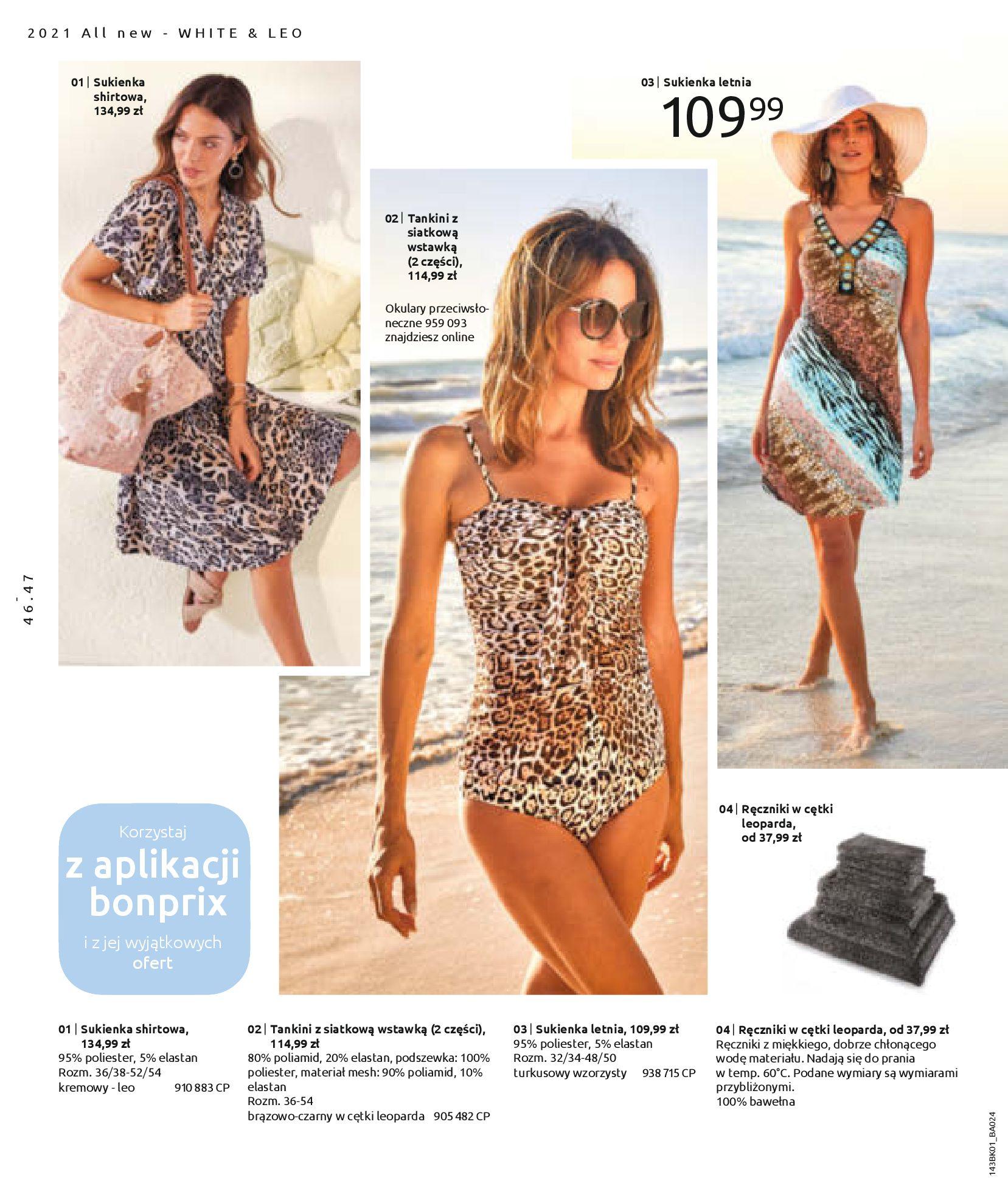 Gazetka Bonprix: Katalog Bonprix Nareszcie! Nadchodzi lato! 2021-06-09 page-48