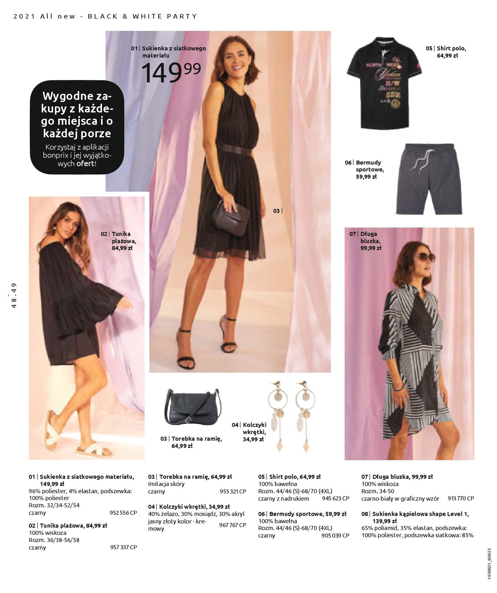Gazetka Bonprix: Katalog Bonprix Nareszcie! Nadchodzi lato! 2021-06-09 page-50