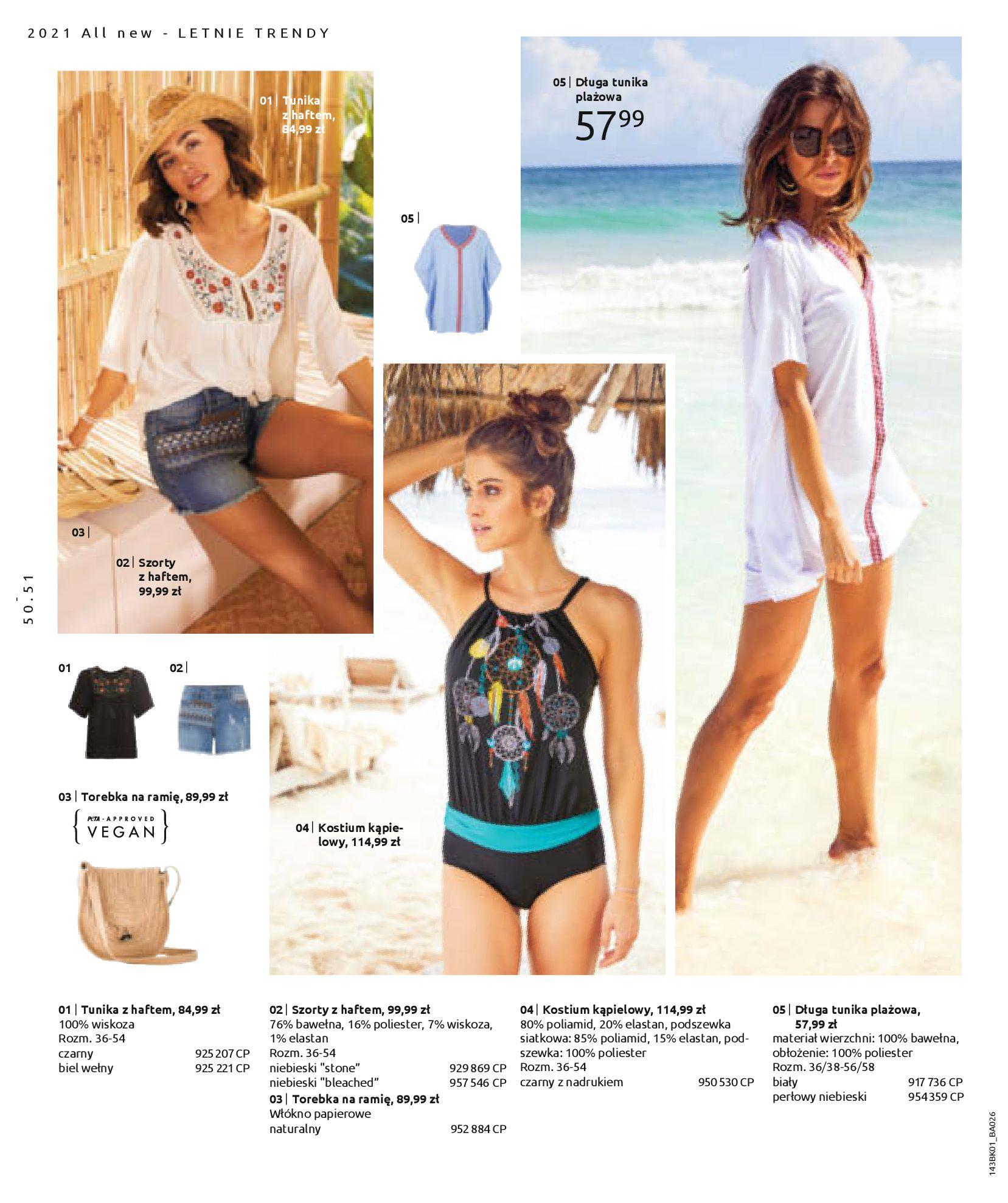 Gazetka Bonprix: Katalog Bonprix Nareszcie! Nadchodzi lato! 2021-06-09 page-52