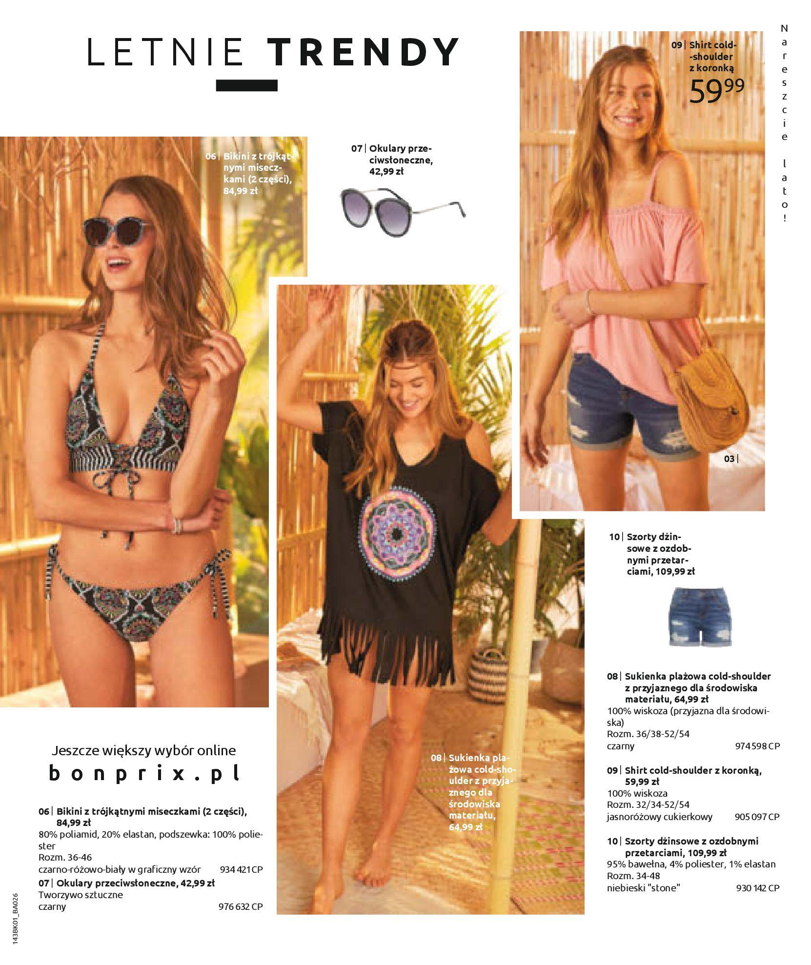 Gazetka Bonprix: Katalog Bonprix Nareszcie! Nadchodzi lato! 2021-06-09 page-53