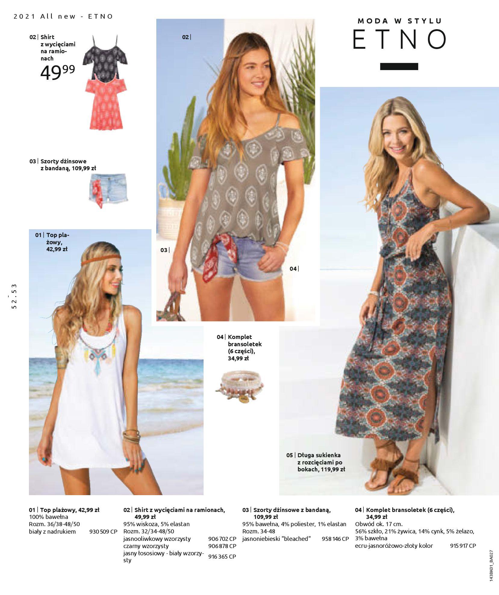 Gazetka Bonprix: Katalog Bonprix Nareszcie! Nadchodzi lato! 2021-06-09 page-54
