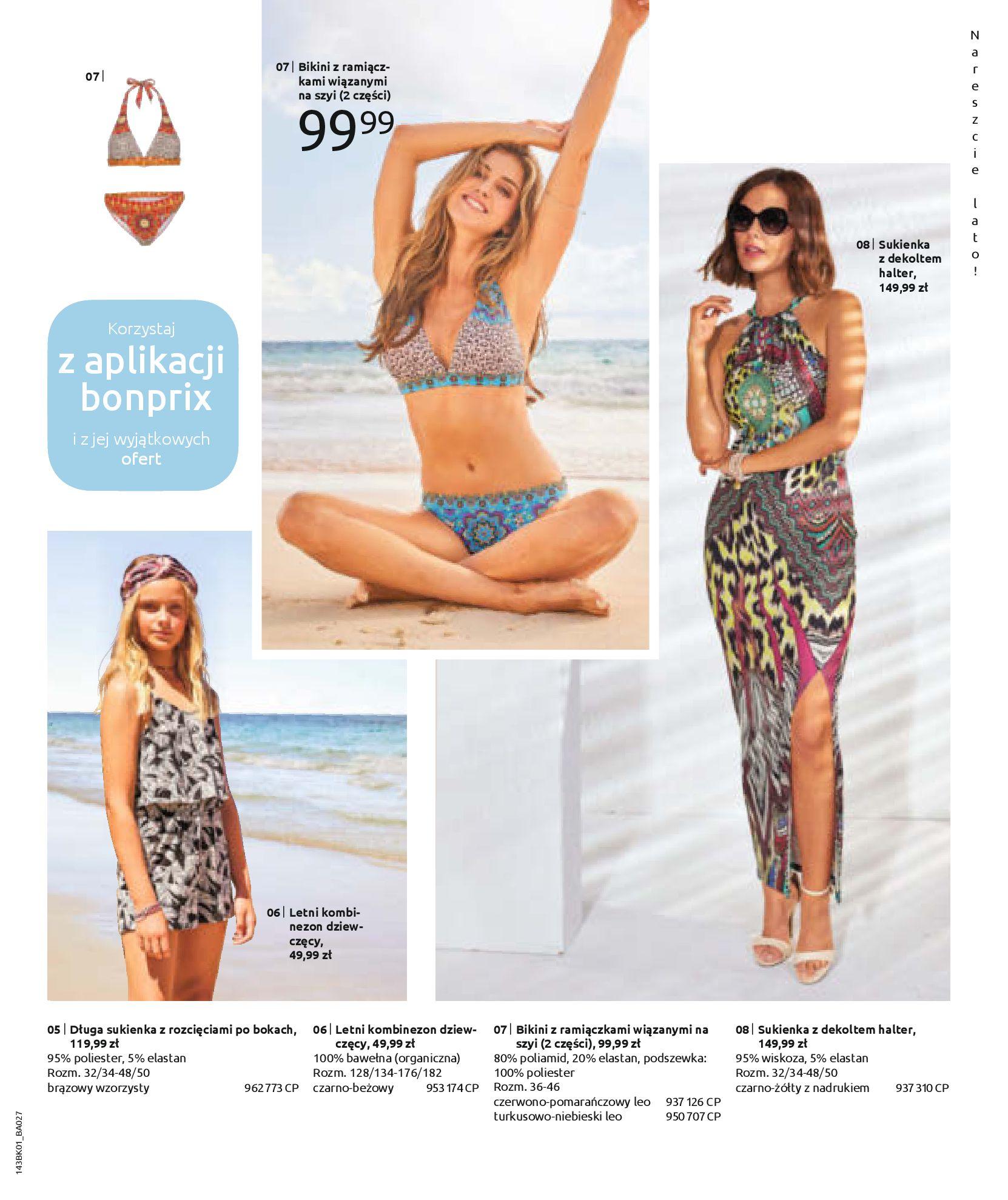 Gazetka Bonprix: Katalog Bonprix Nareszcie! Nadchodzi lato! 2021-06-09 page-55