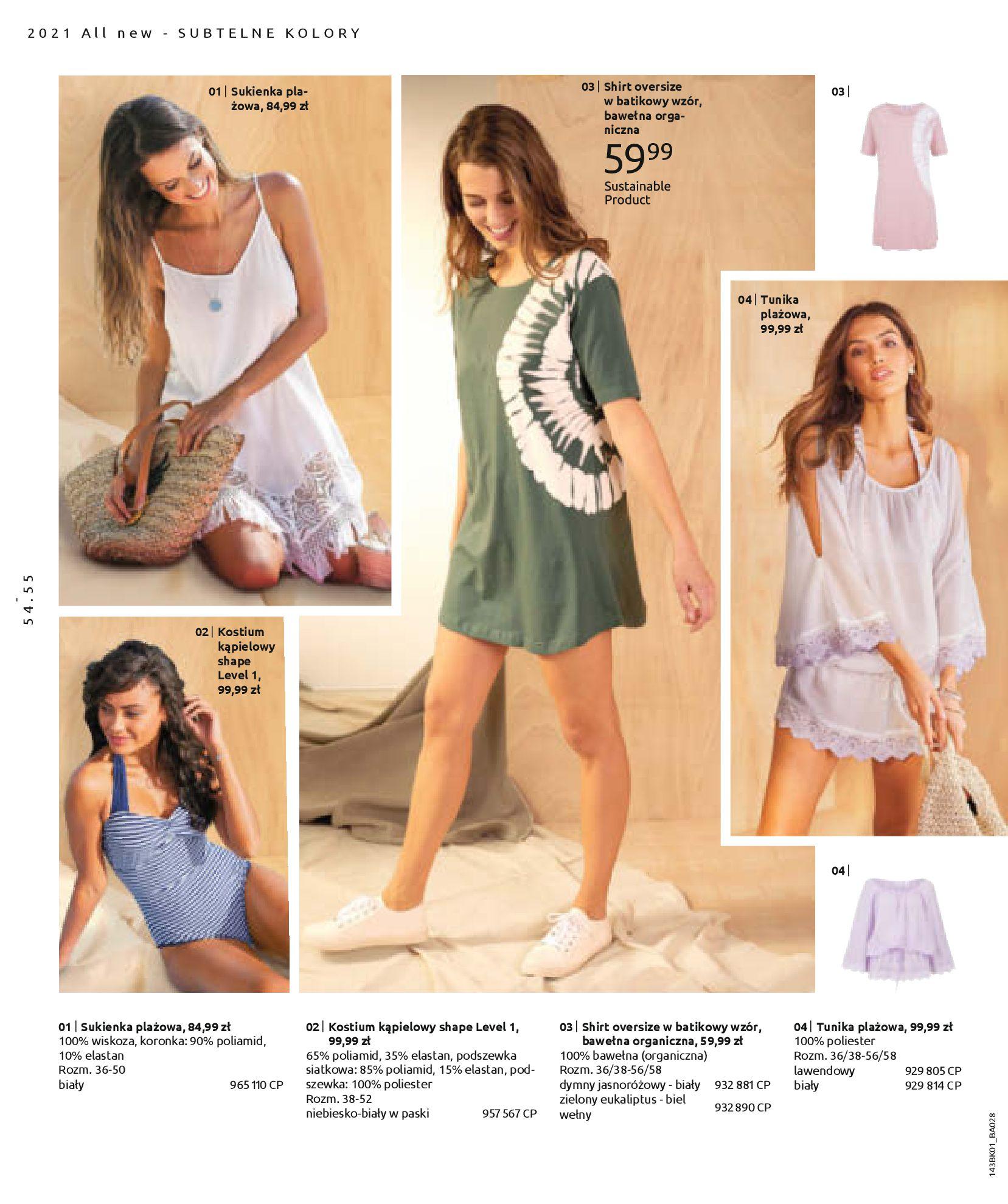 Gazetka Bonprix: Katalog Bonprix Nareszcie! Nadchodzi lato! 2021-06-09 page-56