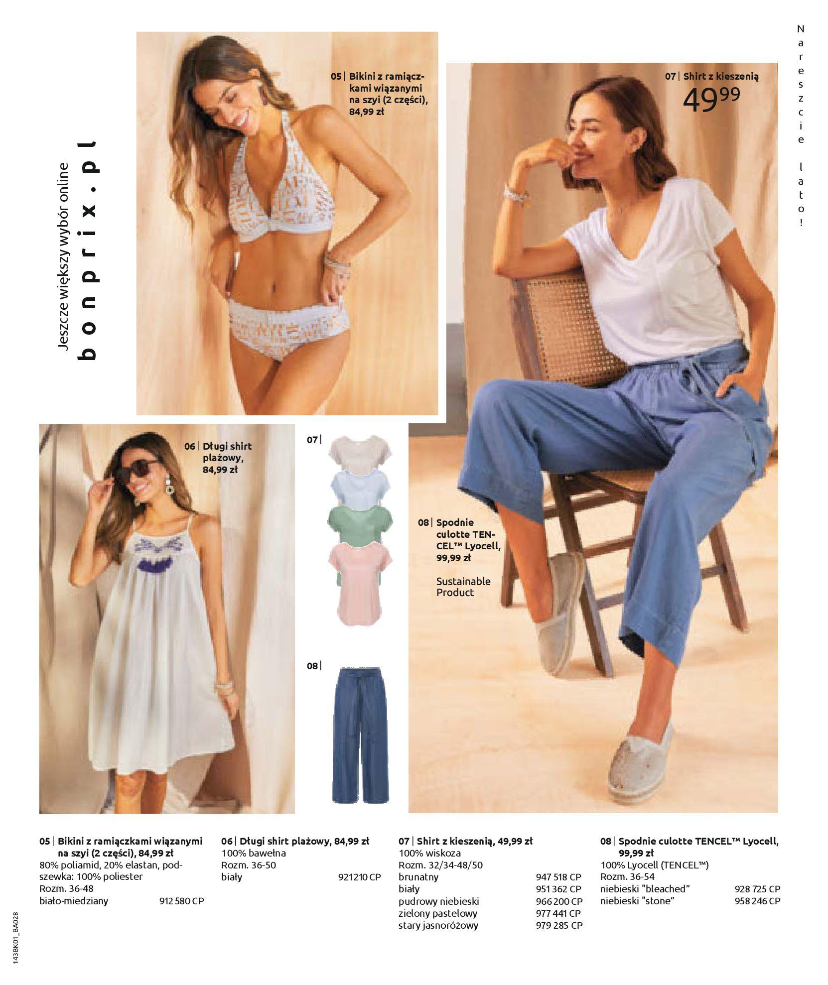 Gazetka Bonprix: Katalog Bonprix Nareszcie! Nadchodzi lato! 2021-06-09 page-57