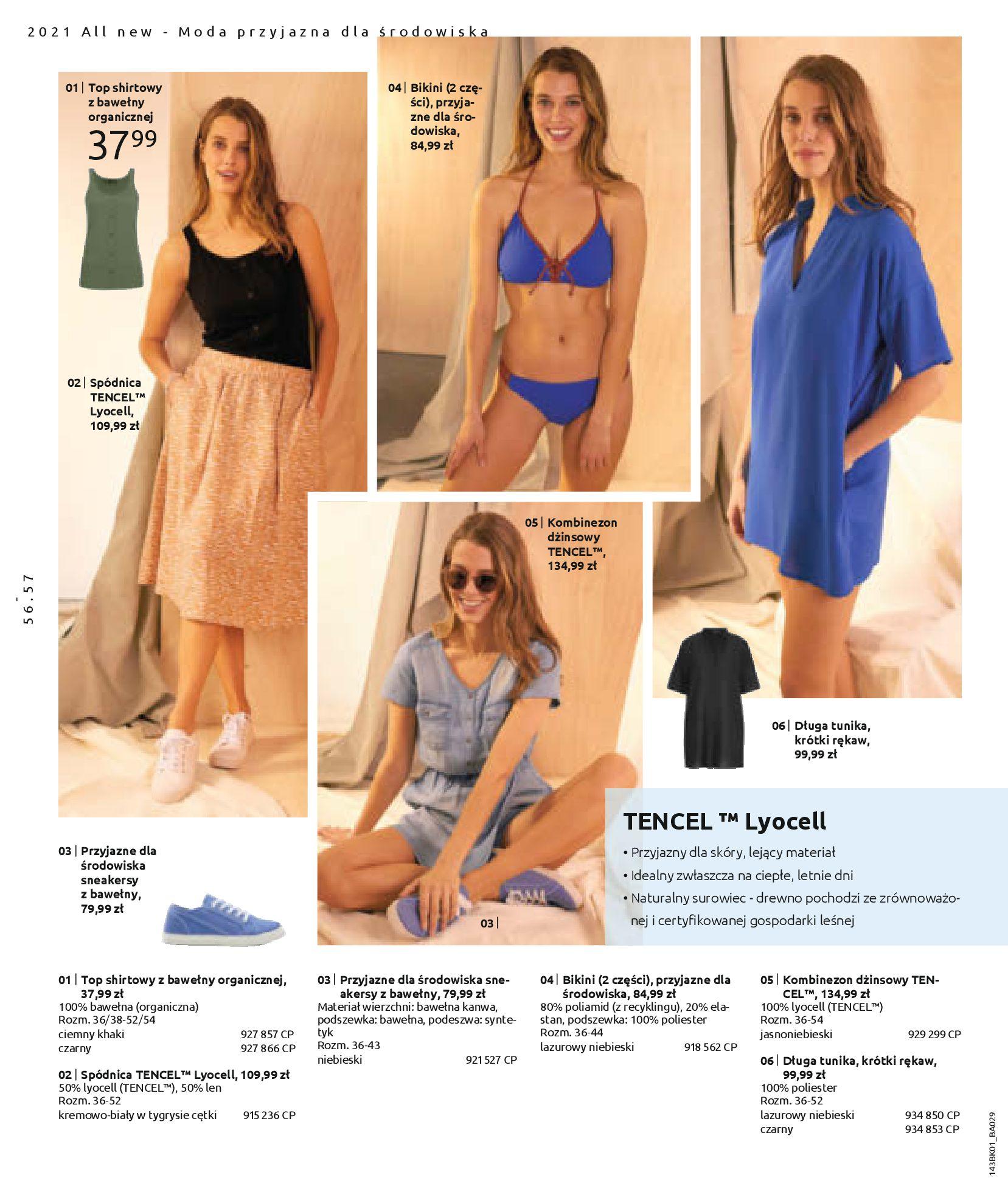 Gazetka Bonprix: Katalog Bonprix Nareszcie! Nadchodzi lato! 2021-06-09 page-58