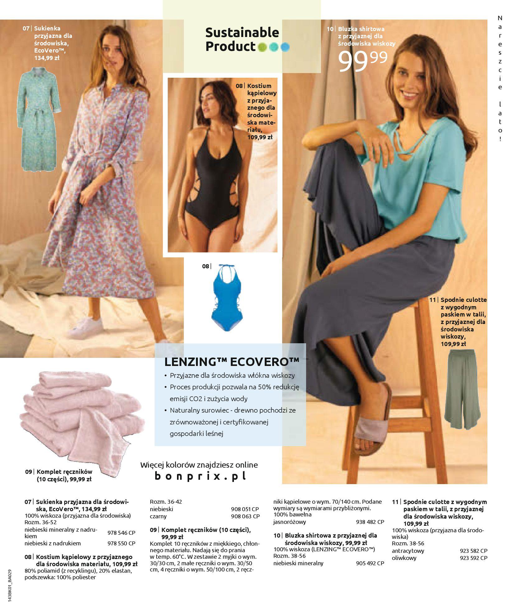 Gazetka Bonprix: Katalog Bonprix Nareszcie! Nadchodzi lato! 2021-06-09 page-59