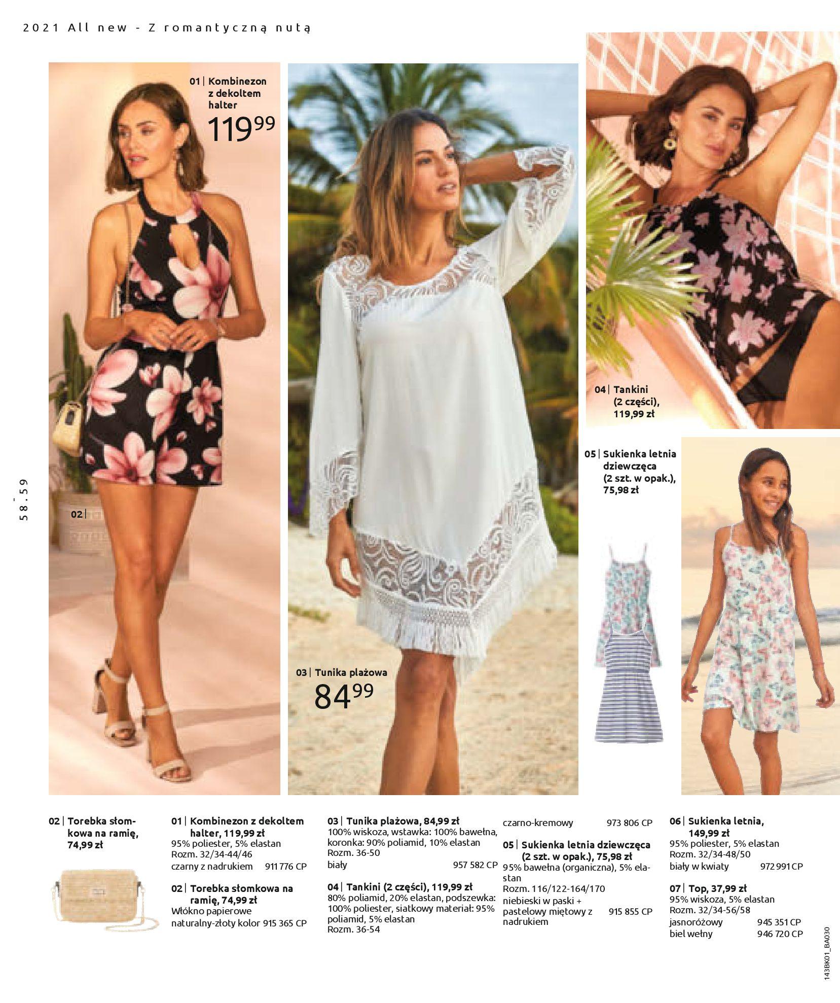 Gazetka Bonprix: Katalog Bonprix Nareszcie! Nadchodzi lato! 2021-06-09 page-60