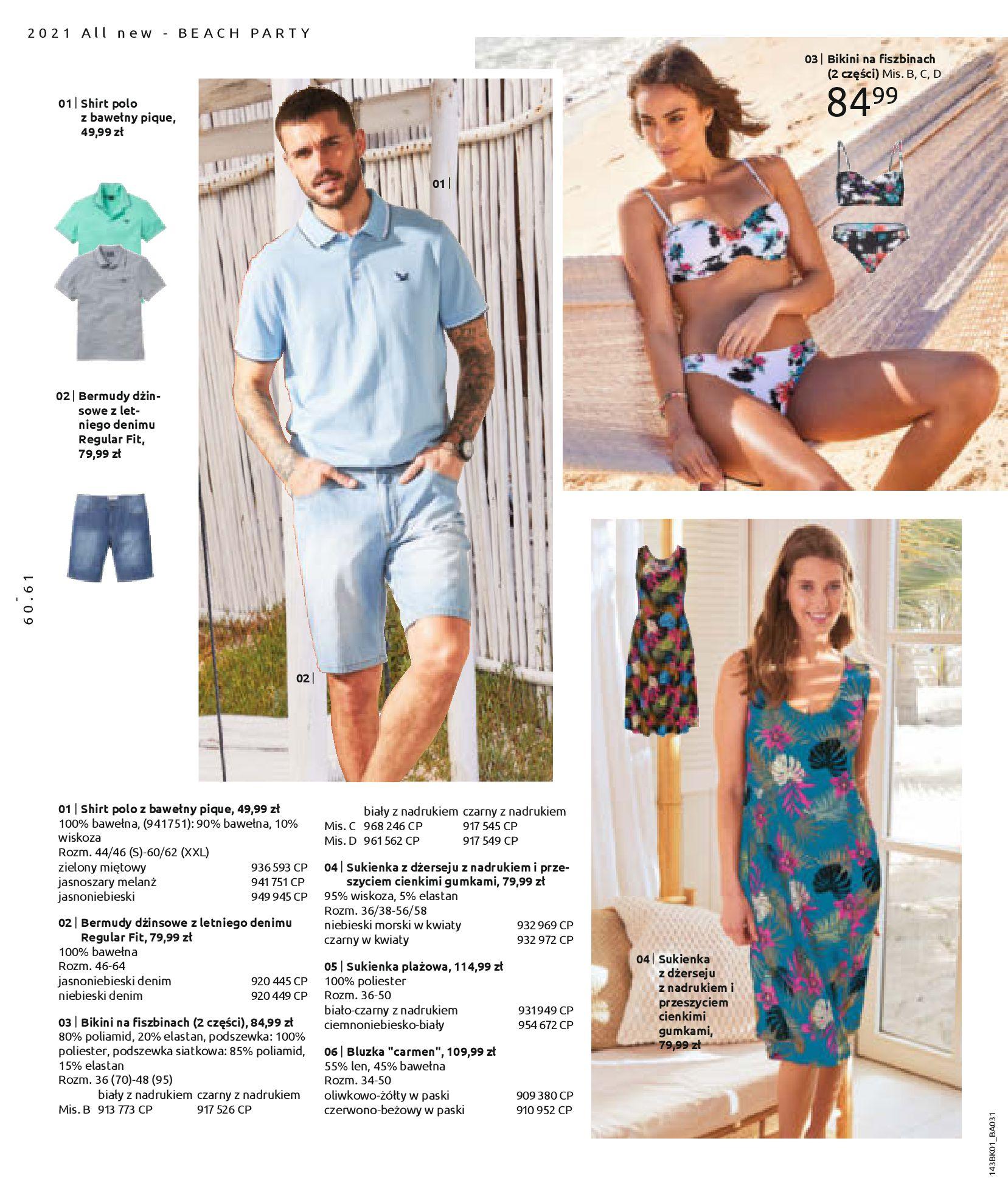 Gazetka Bonprix: Katalog Bonprix Nareszcie! Nadchodzi lato! 2021-06-09 page-62