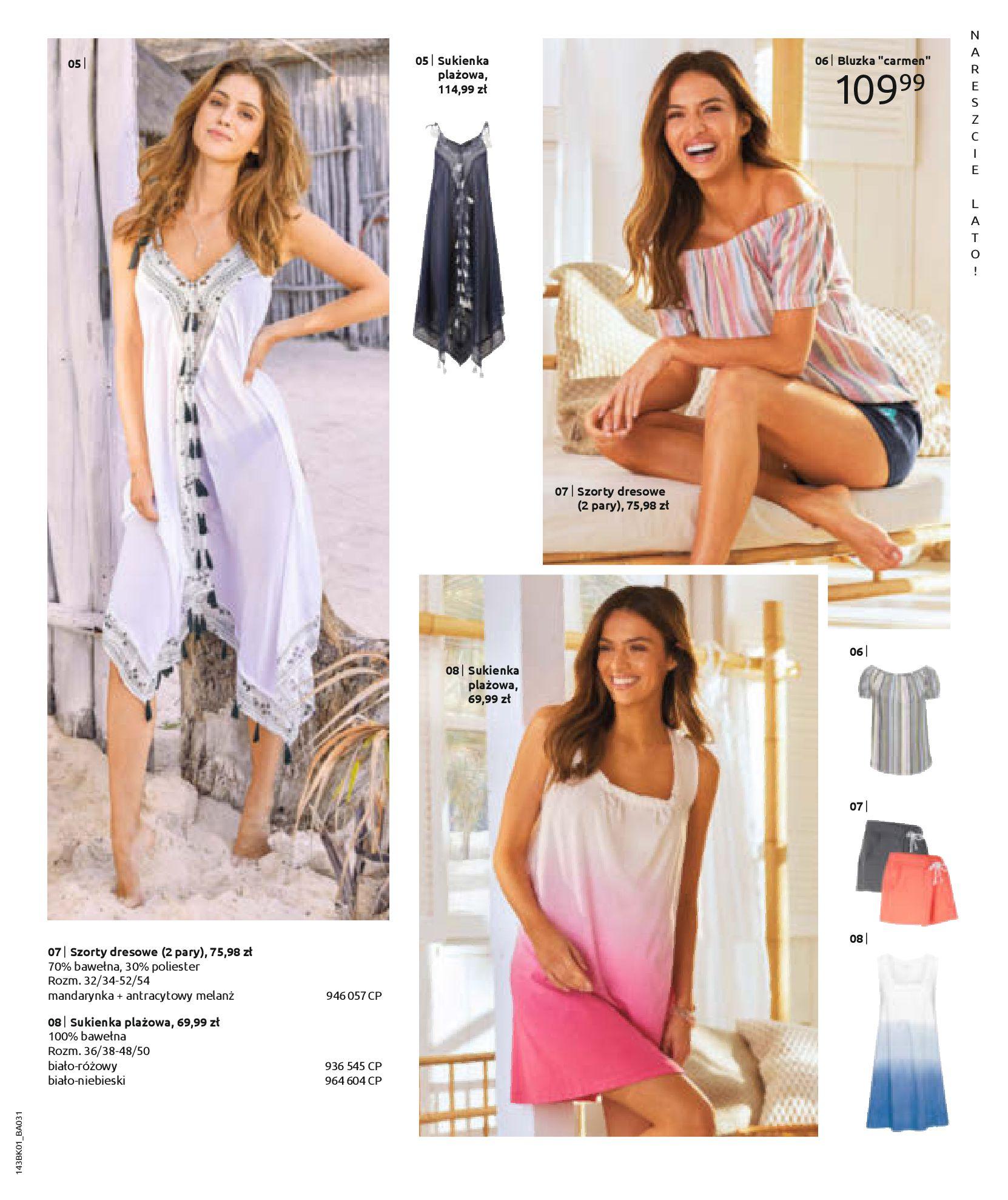 Gazetka Bonprix: Katalog Bonprix Nareszcie! Nadchodzi lato! 2021-06-09 page-63