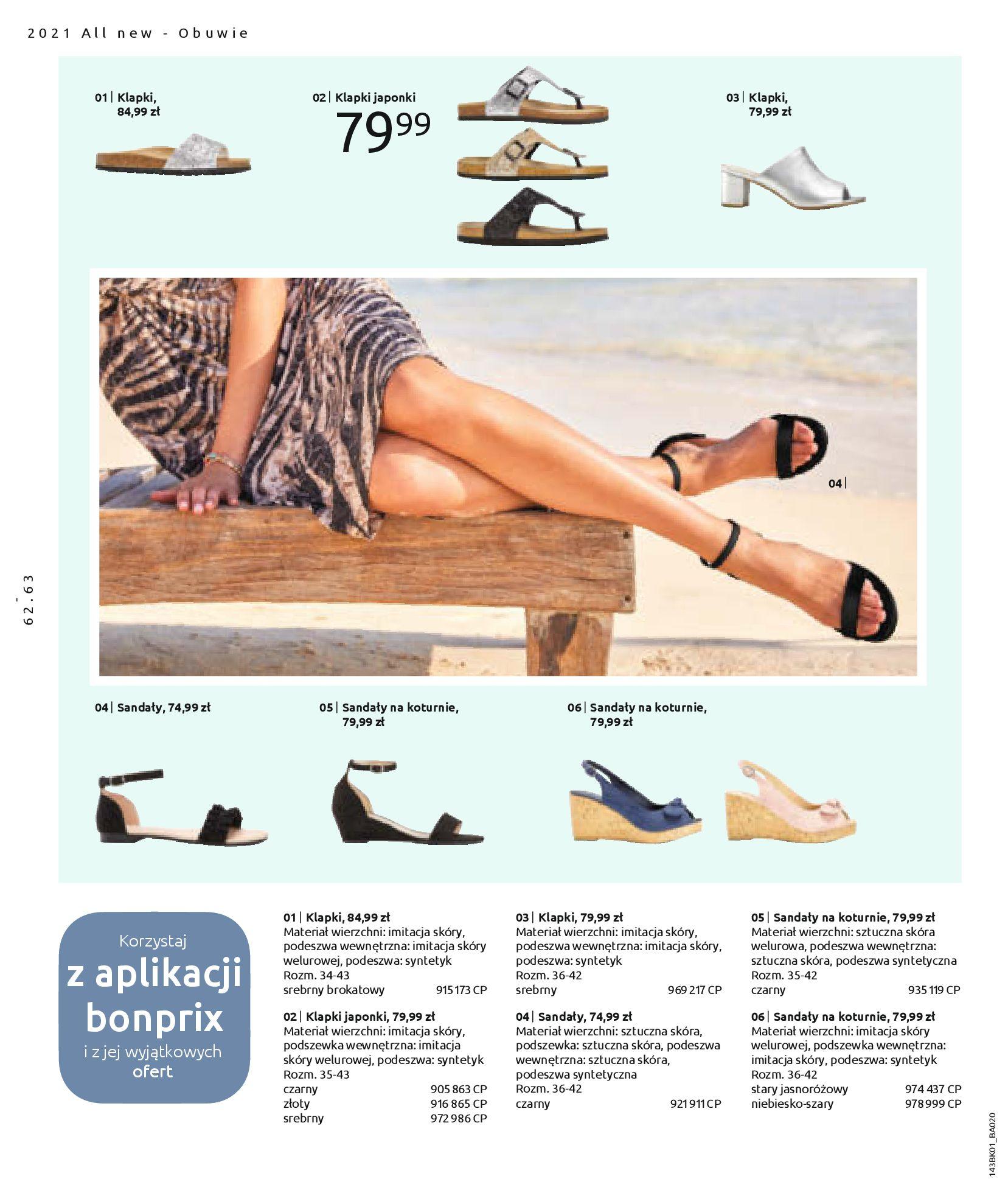 Gazetka Bonprix: Katalog Bonprix Nareszcie! Nadchodzi lato! 2021-06-09 page-64