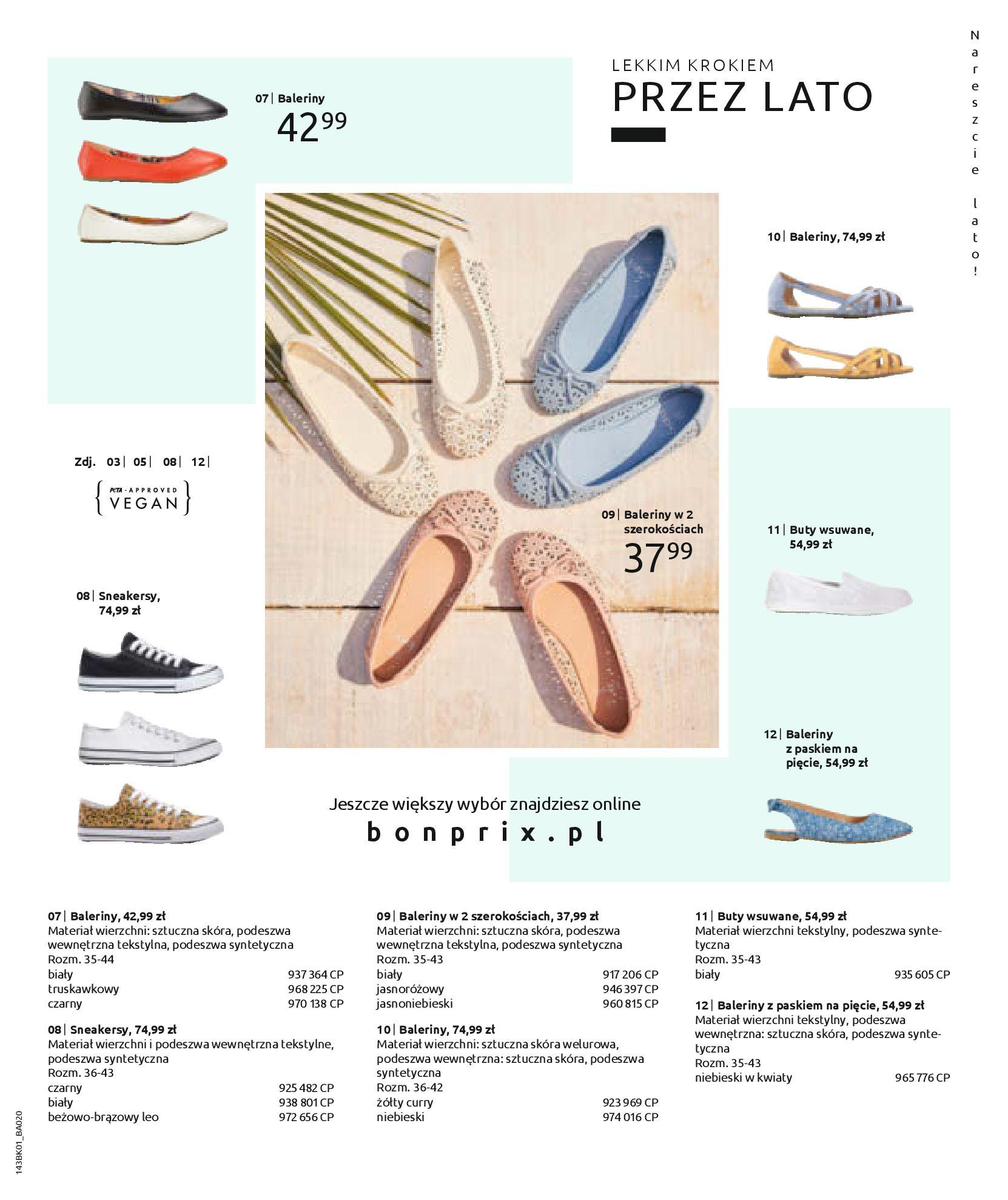 Gazetka Bonprix: Katalog Bonprix Nareszcie! Nadchodzi lato! 2021-06-09 page-65