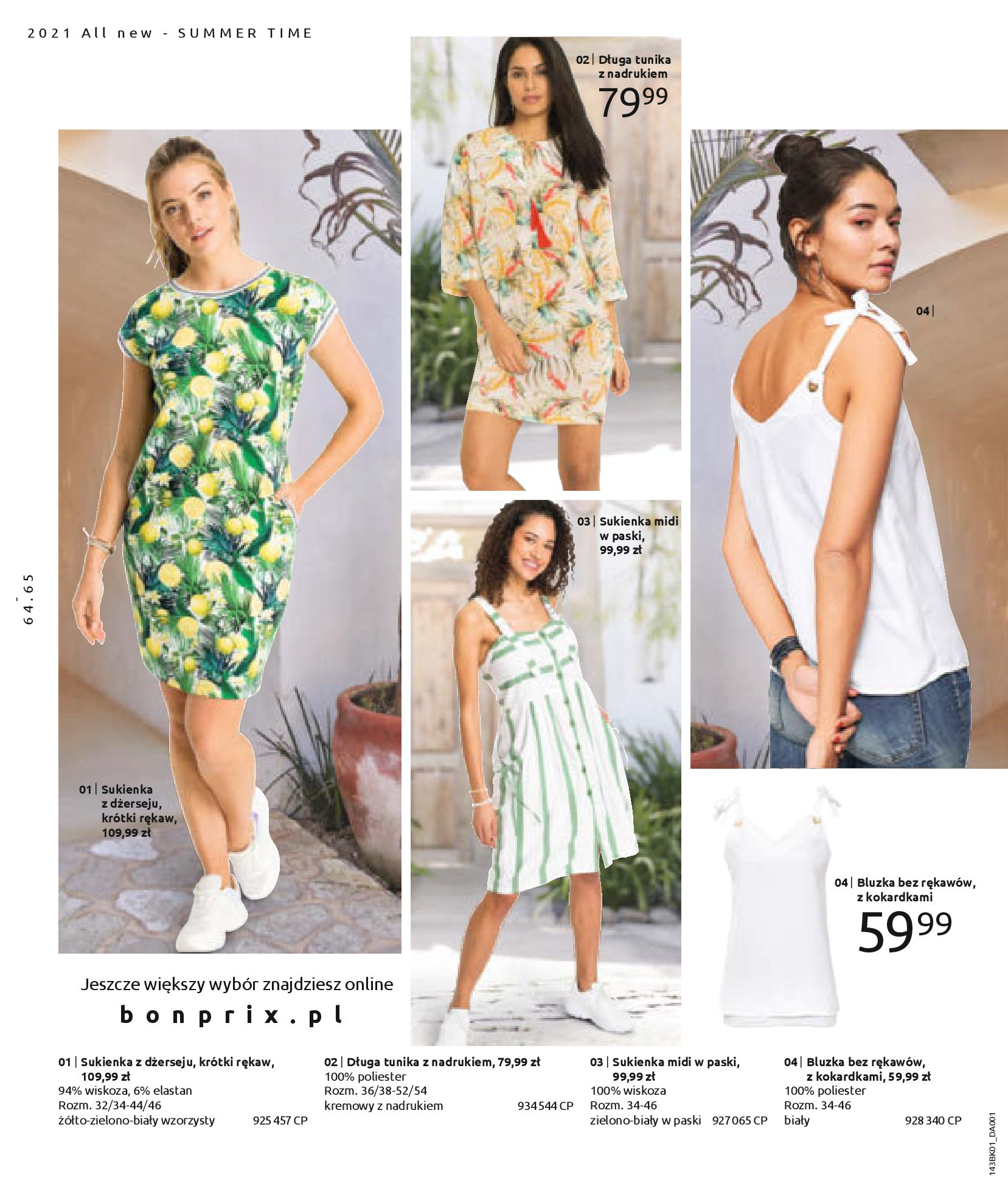 Gazetka Bonprix: Katalog Bonprix Nareszcie! Nadchodzi lato! 2021-06-09 page-66