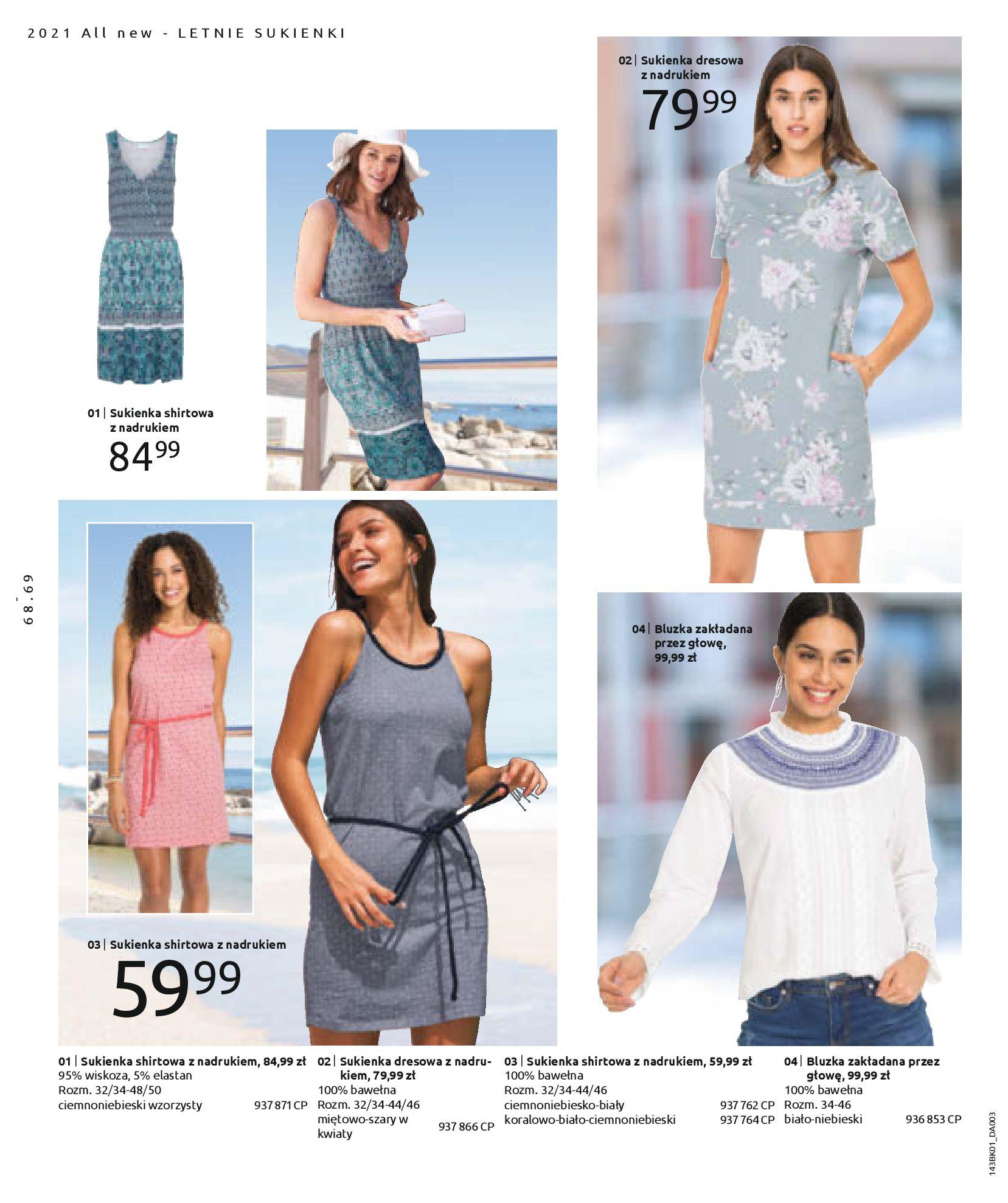 Gazetka Bonprix: Katalog Bonprix Nareszcie! Nadchodzi lato! 2021-06-09 page-70