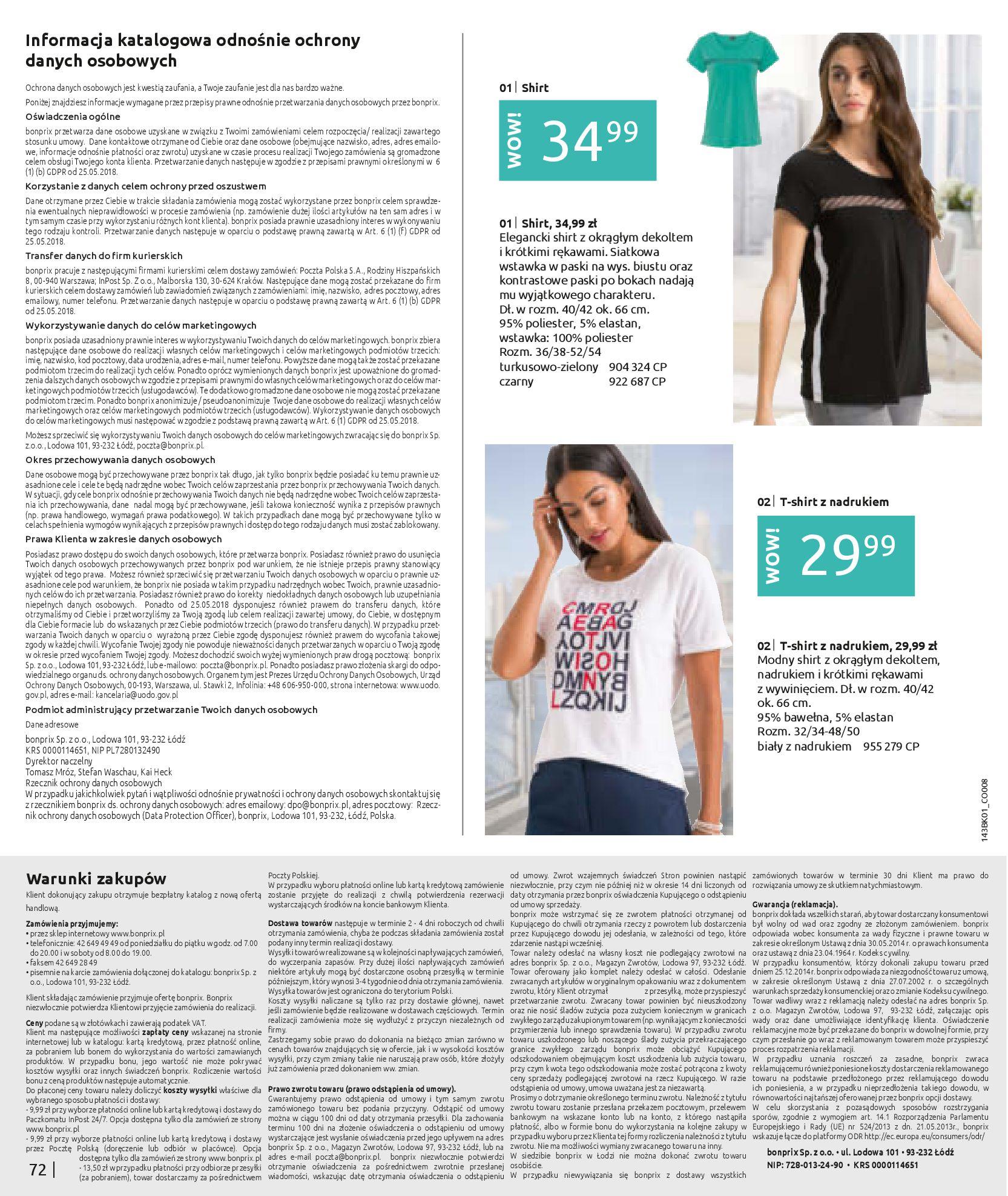 Gazetka Bonprix: Katalog Bonprix Nareszcie! Nadchodzi lato! 2021-06-09 page-74