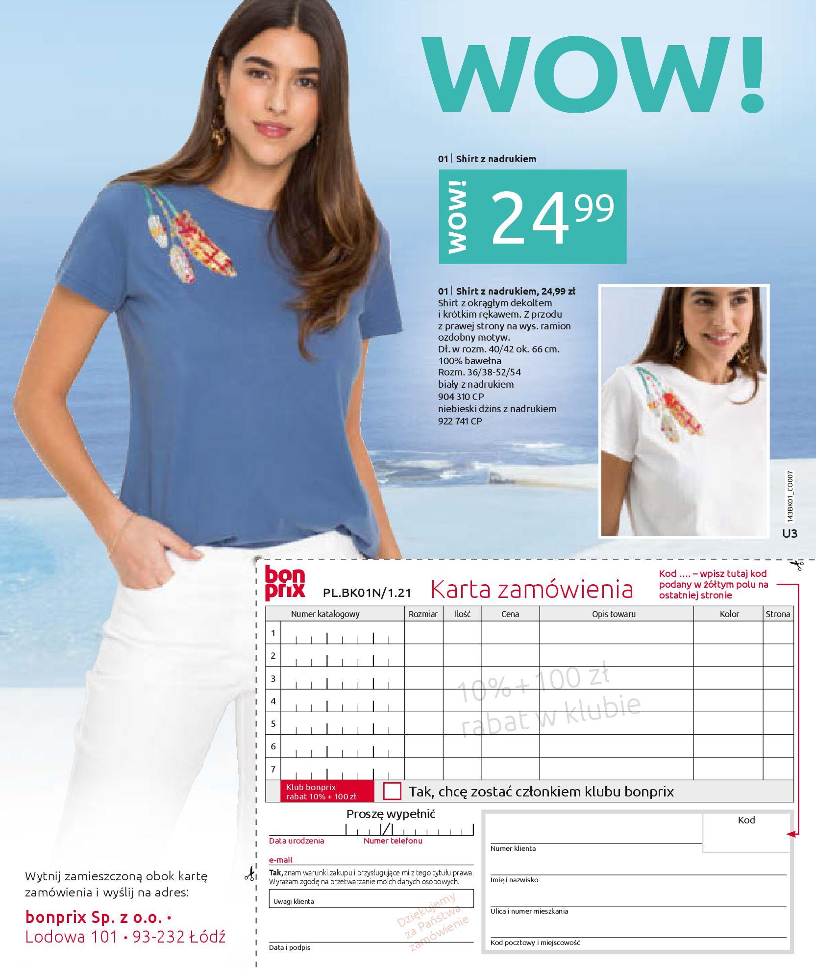 Gazetka Bonprix: Katalog Bonprix Nareszcie! Nadchodzi lato! 2021-06-09 page-75