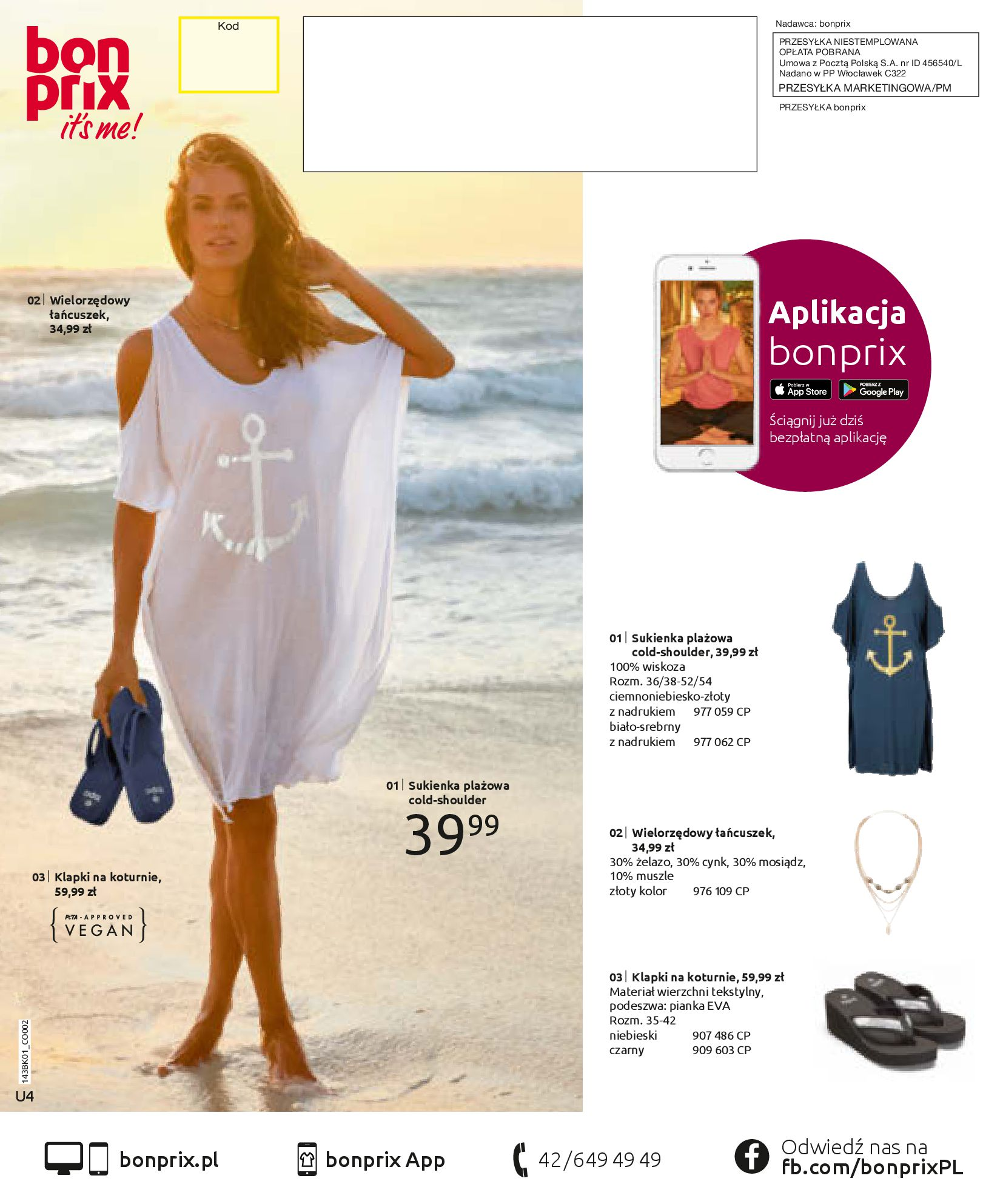 Gazetka Bonprix: Katalog Bonprix Nareszcie! Nadchodzi lato! 2021-06-09 page-76