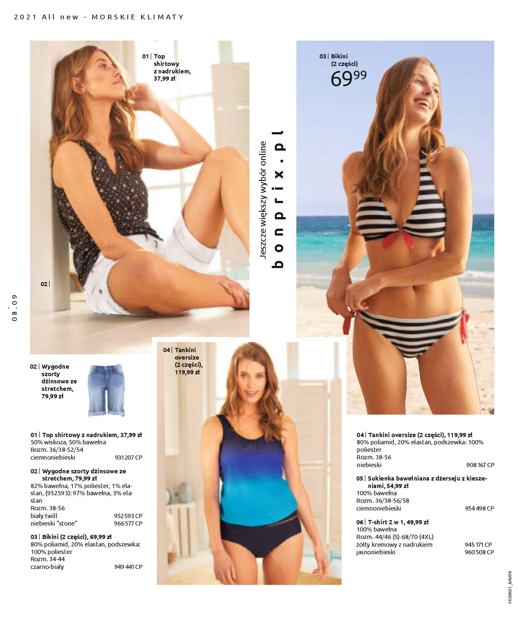 Gazetka Bonprix: Katalog Bonprix Nareszcie! Nadchodzi lato! 2021-06-09 page-10