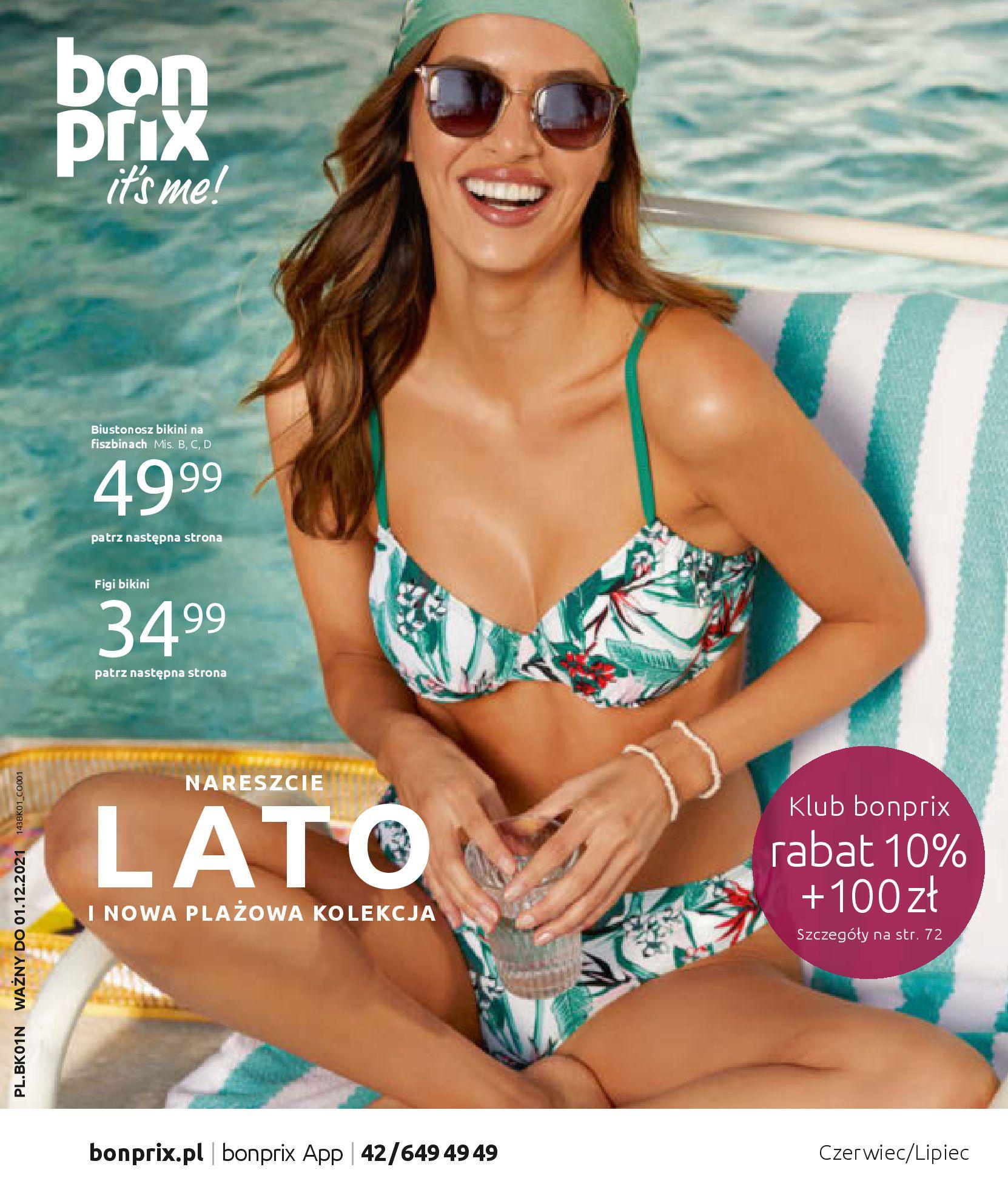 Gazetka Bonprix: Katalog Bonprix Nareszcie! Nadchodzi lato! 2021-06-09 page-1