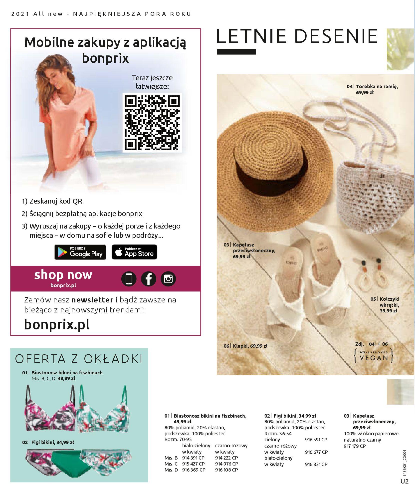 Gazetka Bonprix: Katalog Bonprix Nareszcie! Nadchodzi lato! 2021-06-09 page-2