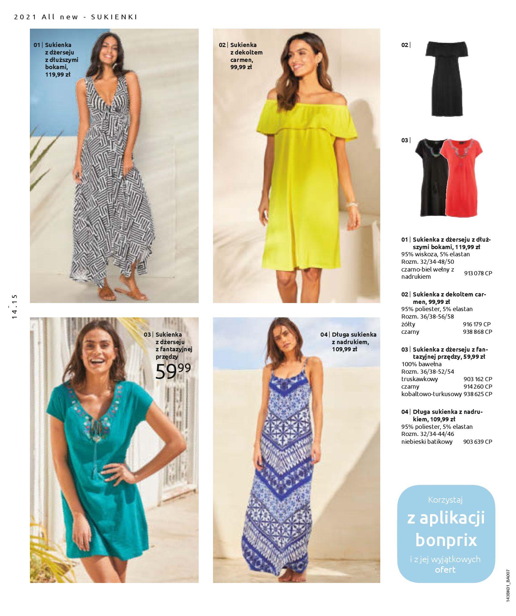 Gazetka Bonprix: Katalog Bonprix Nareszcie! Nadchodzi lato! 2021-06-09 page-16