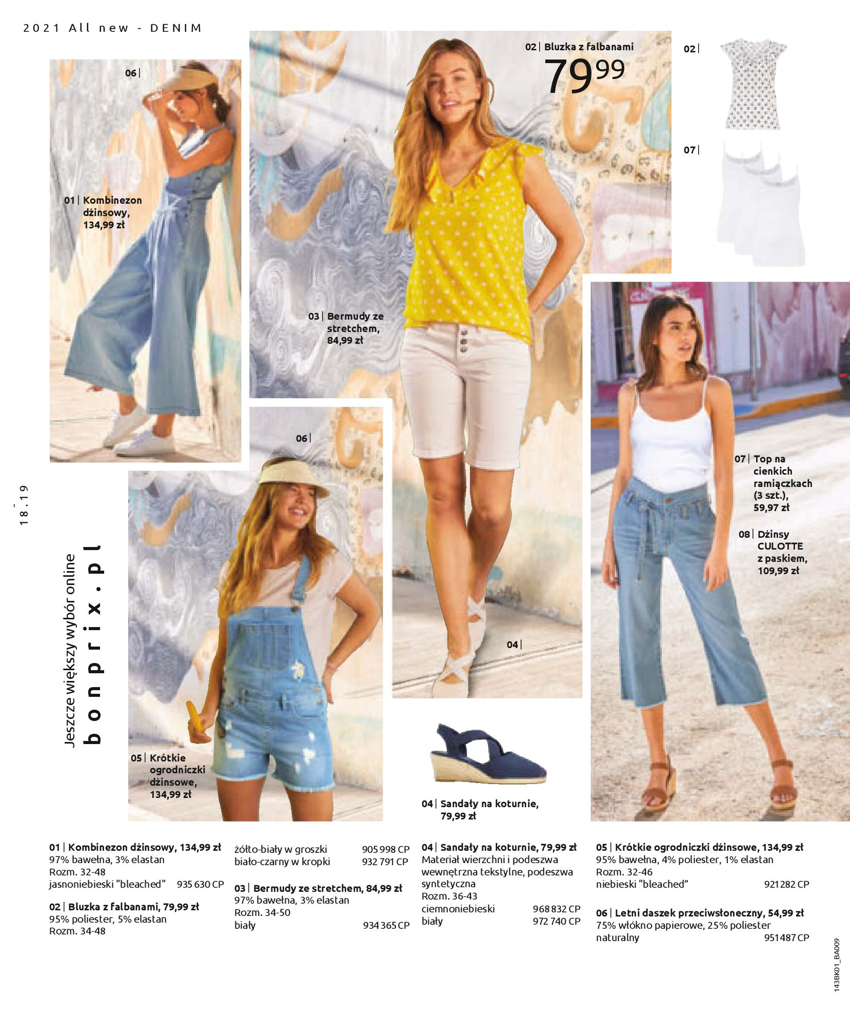 Gazetka Bonprix: Katalog Bonprix Nareszcie! Nadchodzi lato! 2021-06-09 page-20