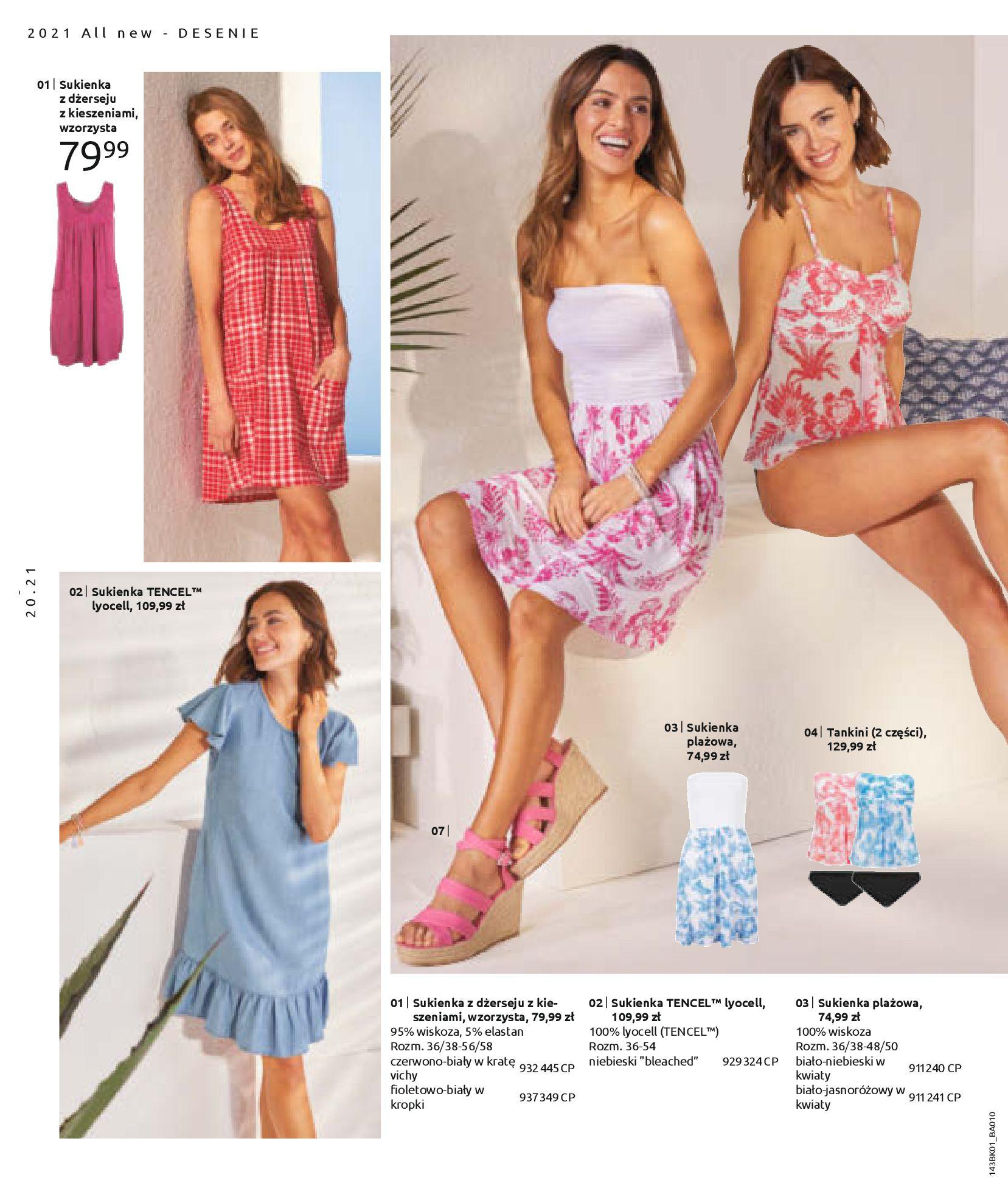Gazetka Bonprix: Katalog Bonprix Nareszcie! Nadchodzi lato! 2021-06-09 page-22
