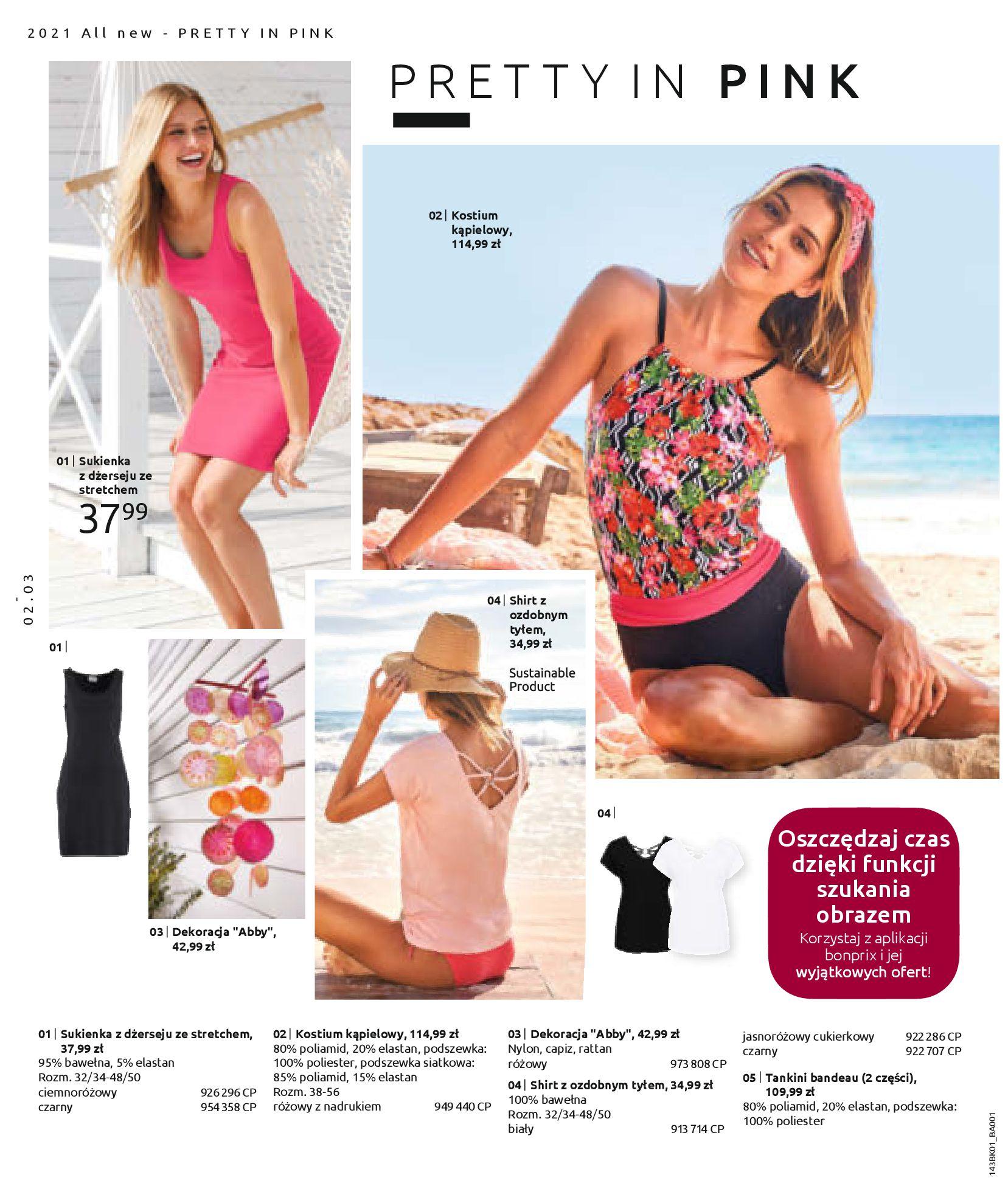 Gazetka Bonprix: Katalog Bonprix Nareszcie! Nadchodzi lato! 2021-06-09 page-4