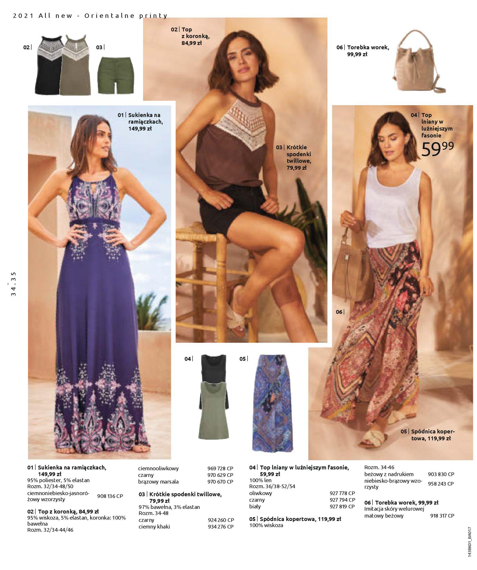 Gazetka Bonprix: Katalog Bonprix Nareszcie! Nadchodzi lato! 2021-06-09 page-36