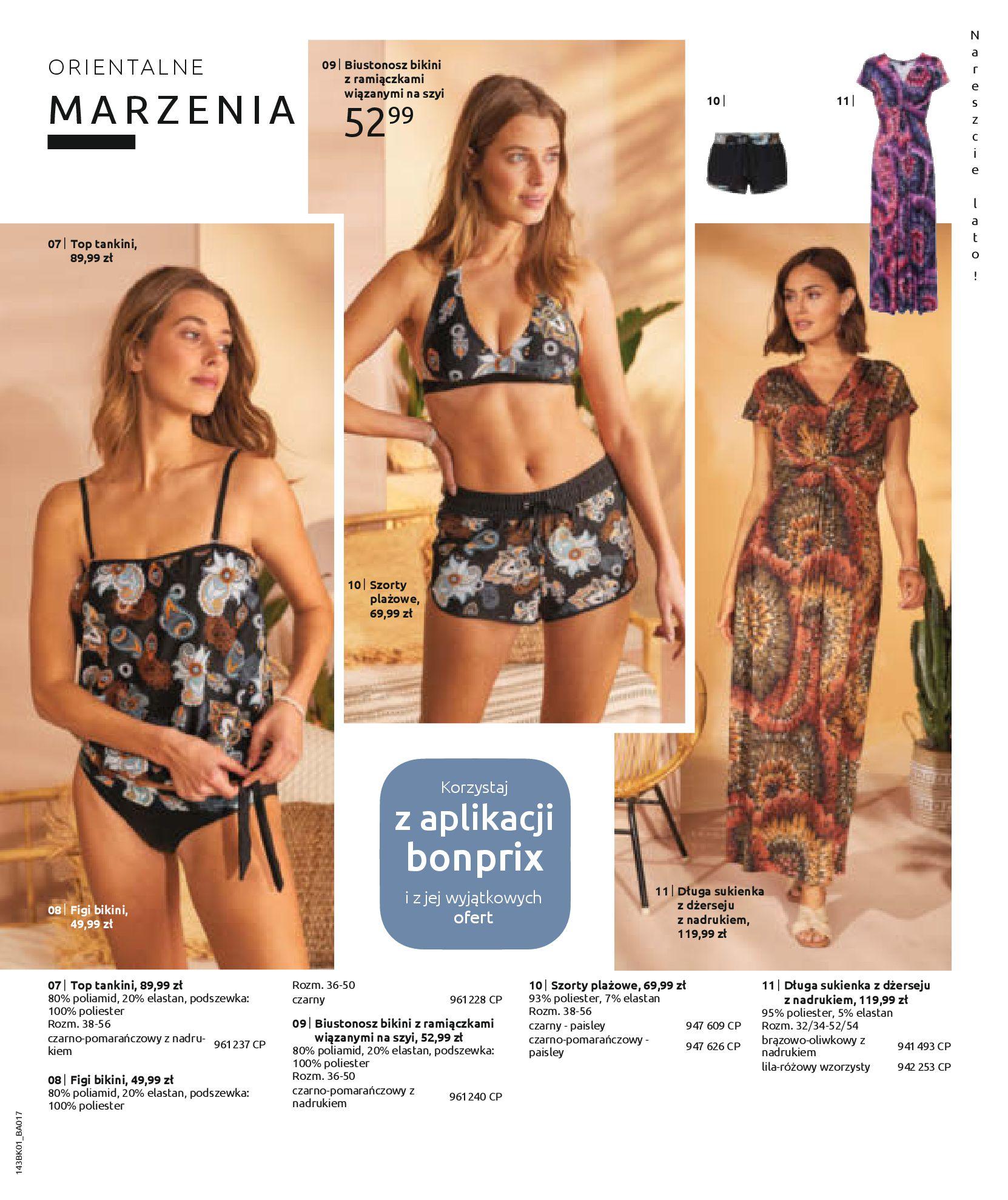 Gazetka Bonprix: Katalog Bonprix Nareszcie! Nadchodzi lato! 2021-06-09 page-37