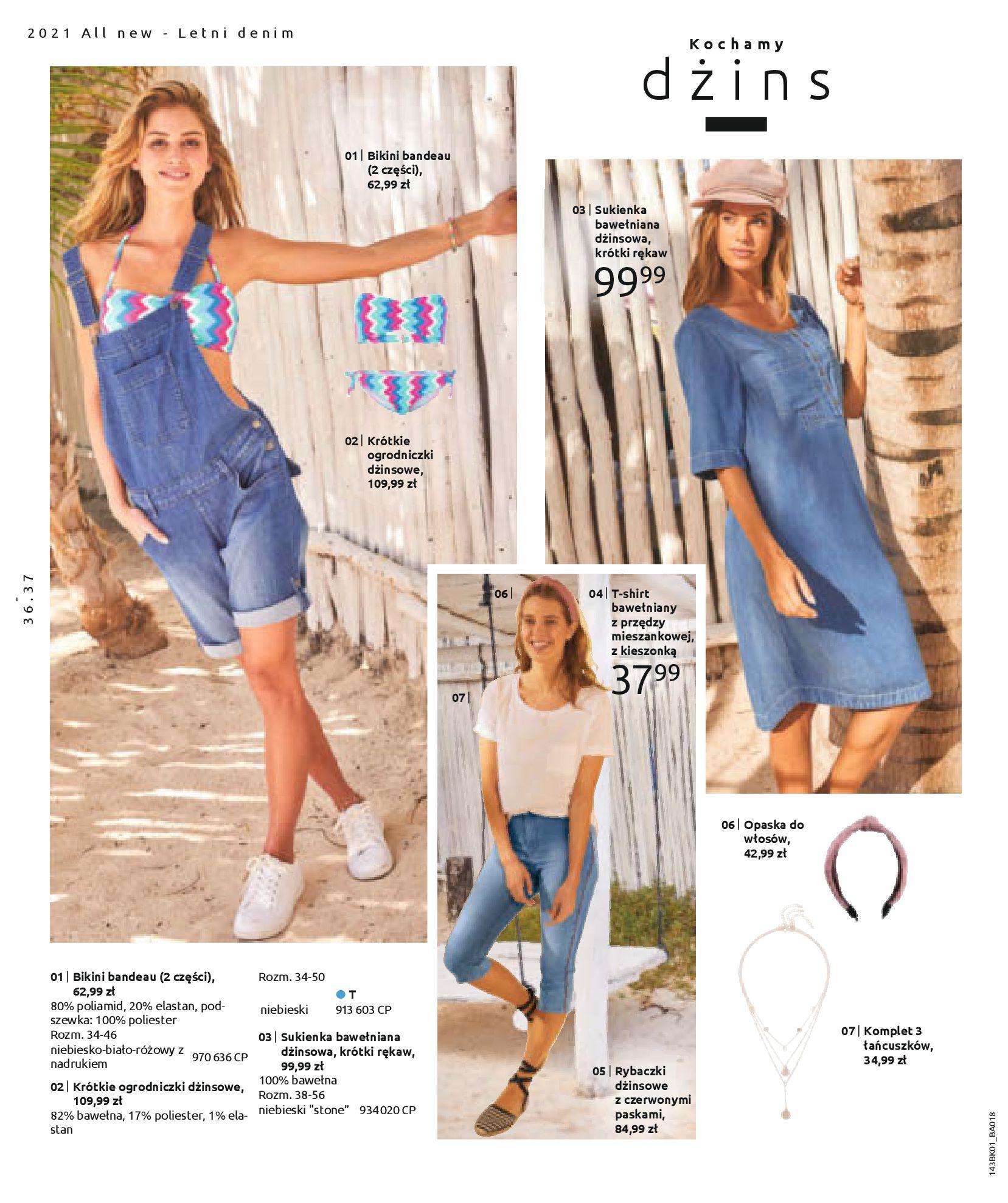Gazetka Bonprix: Katalog Bonprix Nareszcie! Nadchodzi lato! 2021-06-09 page-38