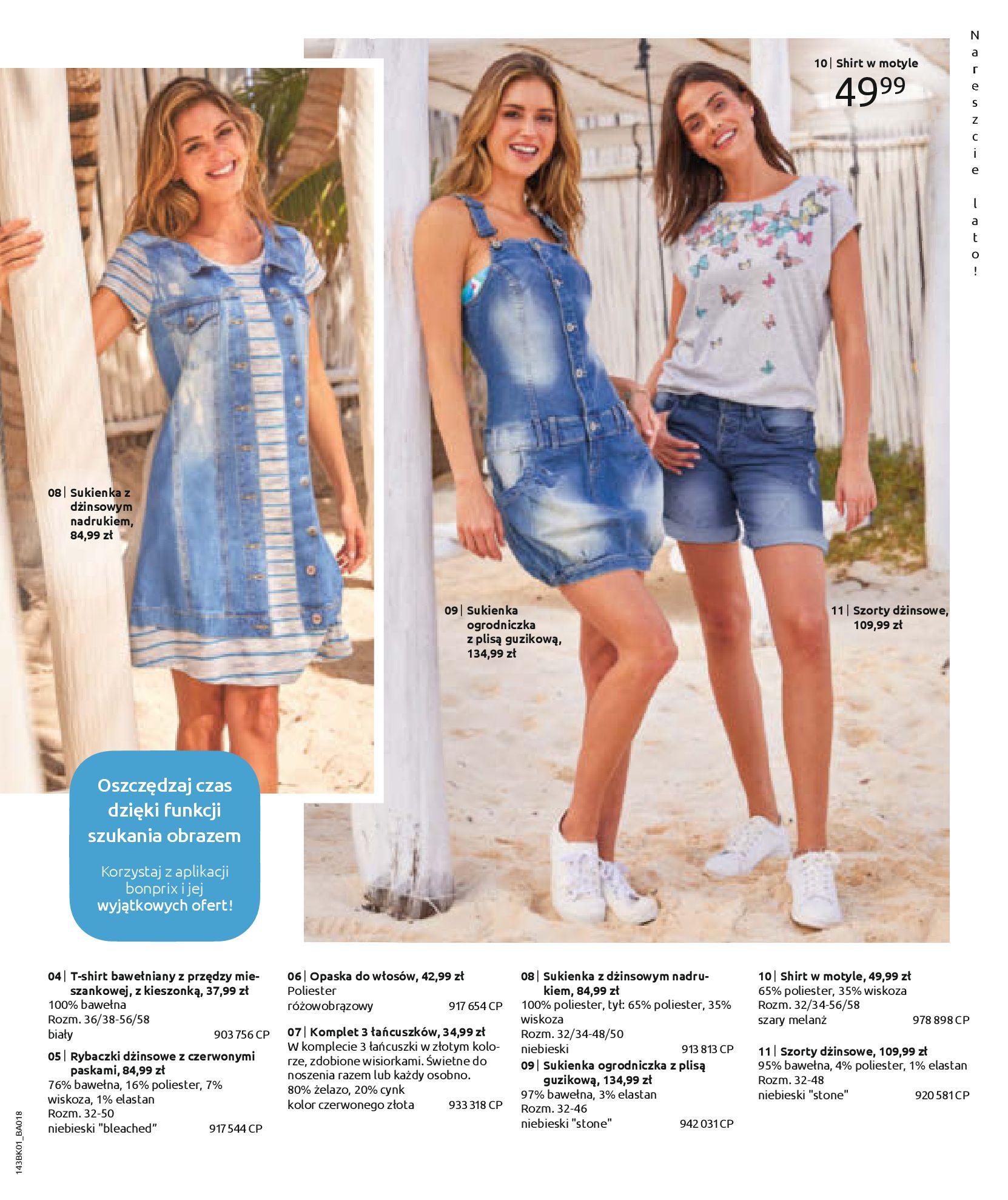Gazetka Bonprix: Katalog Bonprix Nareszcie! Nadchodzi lato! 2021-06-09 page-39