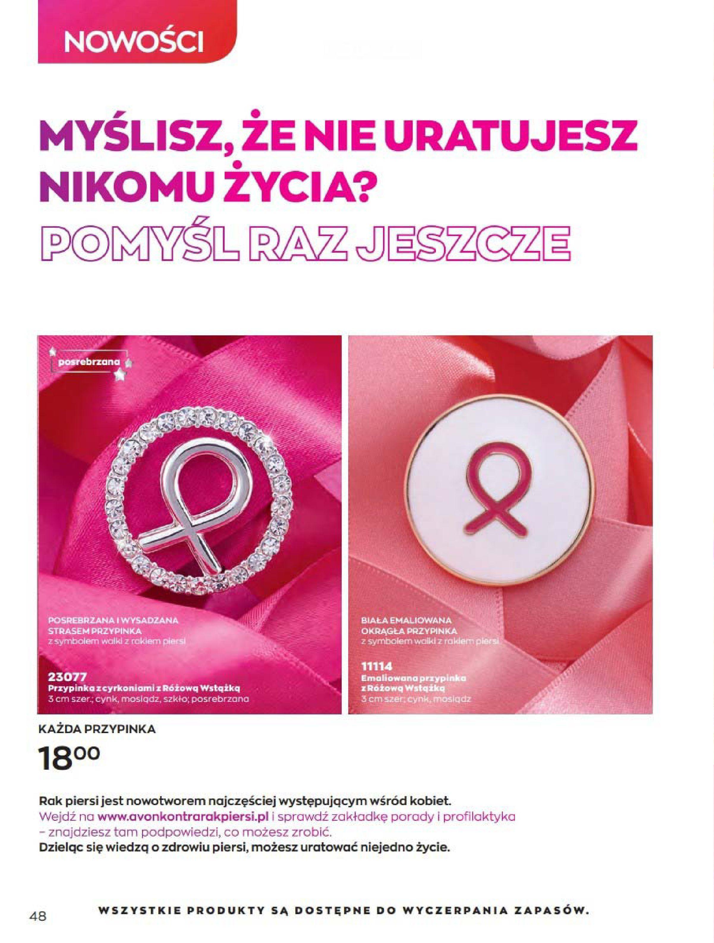 Gazetka Avon: Katalog Kwiecień 2021 2021-04-01 page-48
