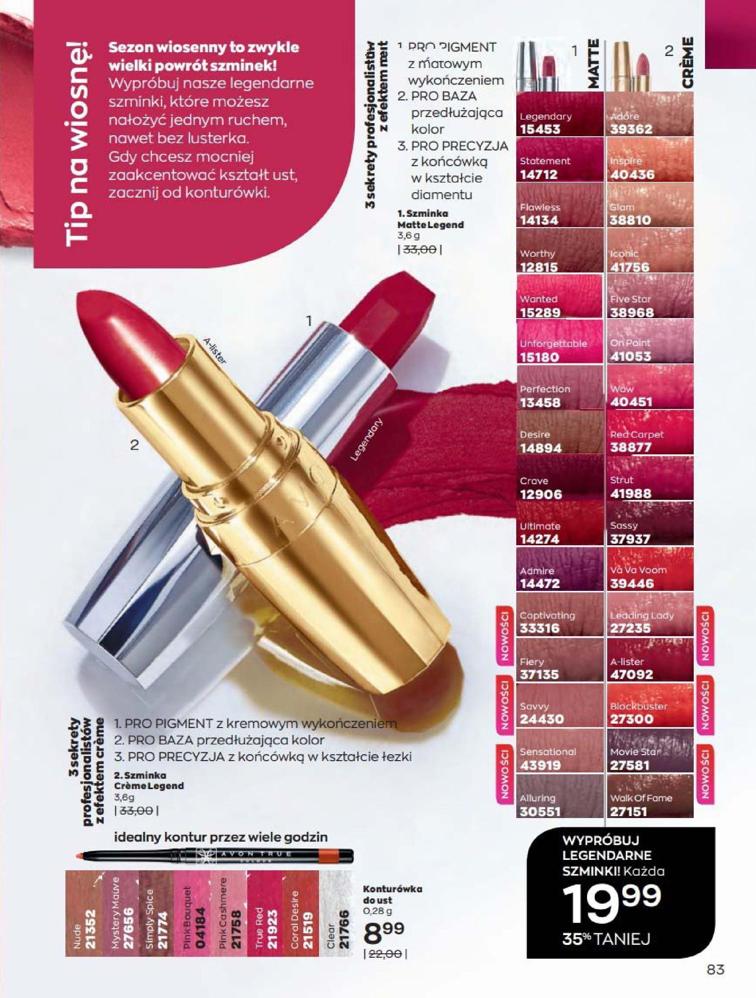 Gazetka Avon: Katalog Kwiecień 2021 2021-04-01 page-83