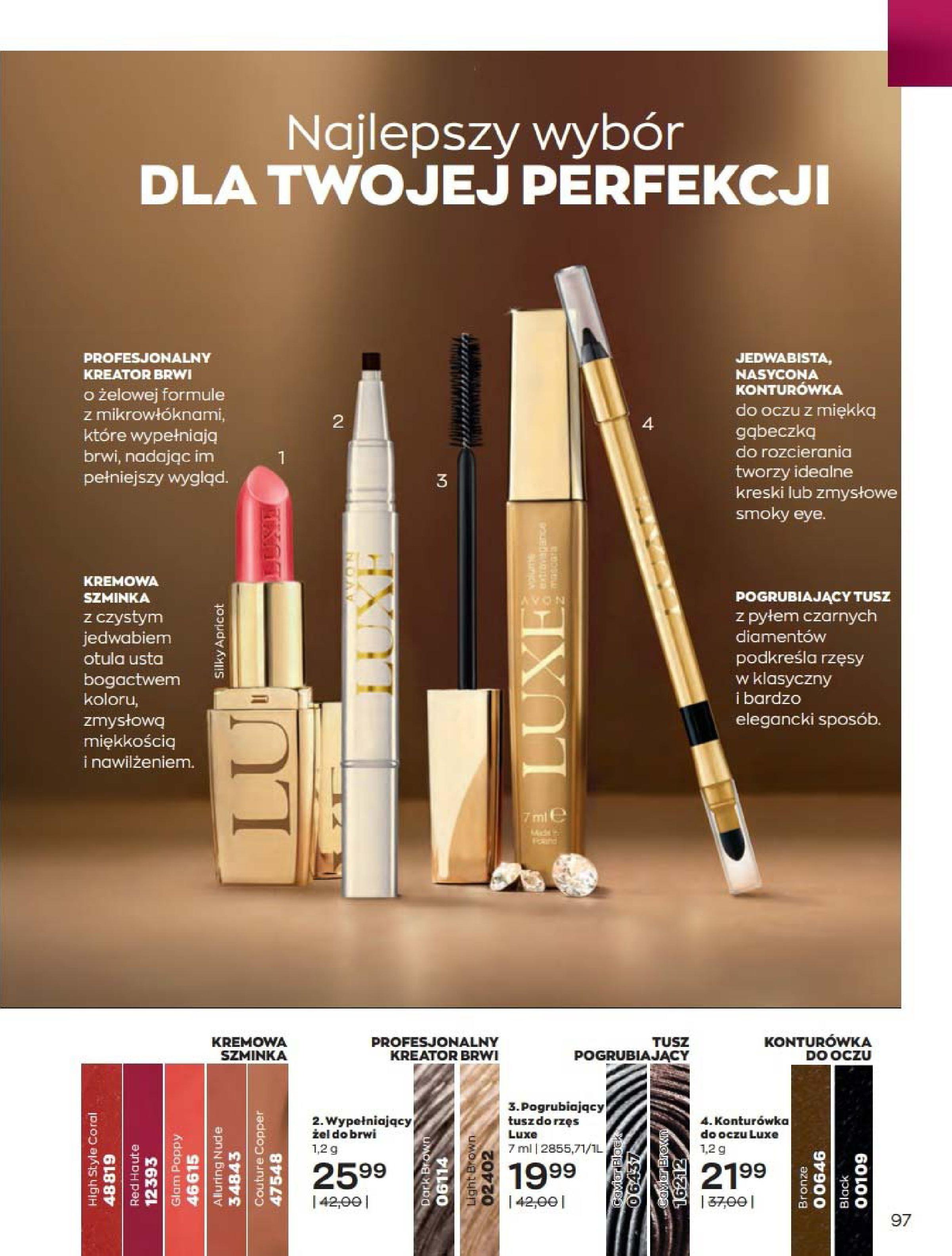 Gazetka Avon: Katalog Kwiecień 2021 2021-04-01 page-97