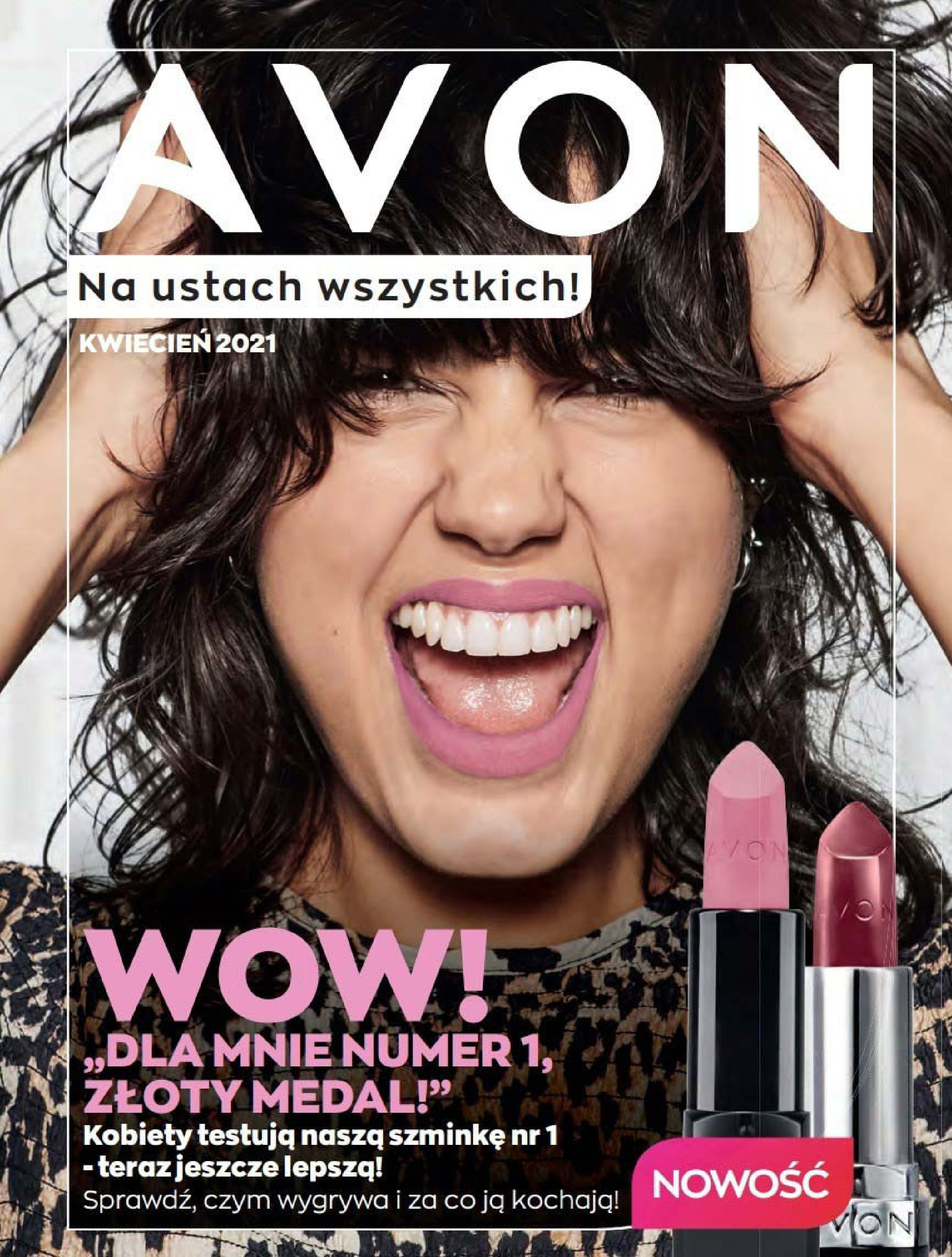 Avon:  Katalog Kwiecień 2021 31.03.2021